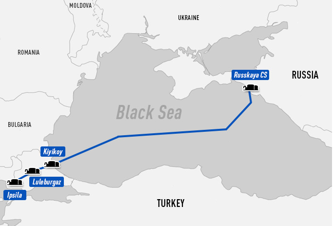 Turkish Stream pipeline