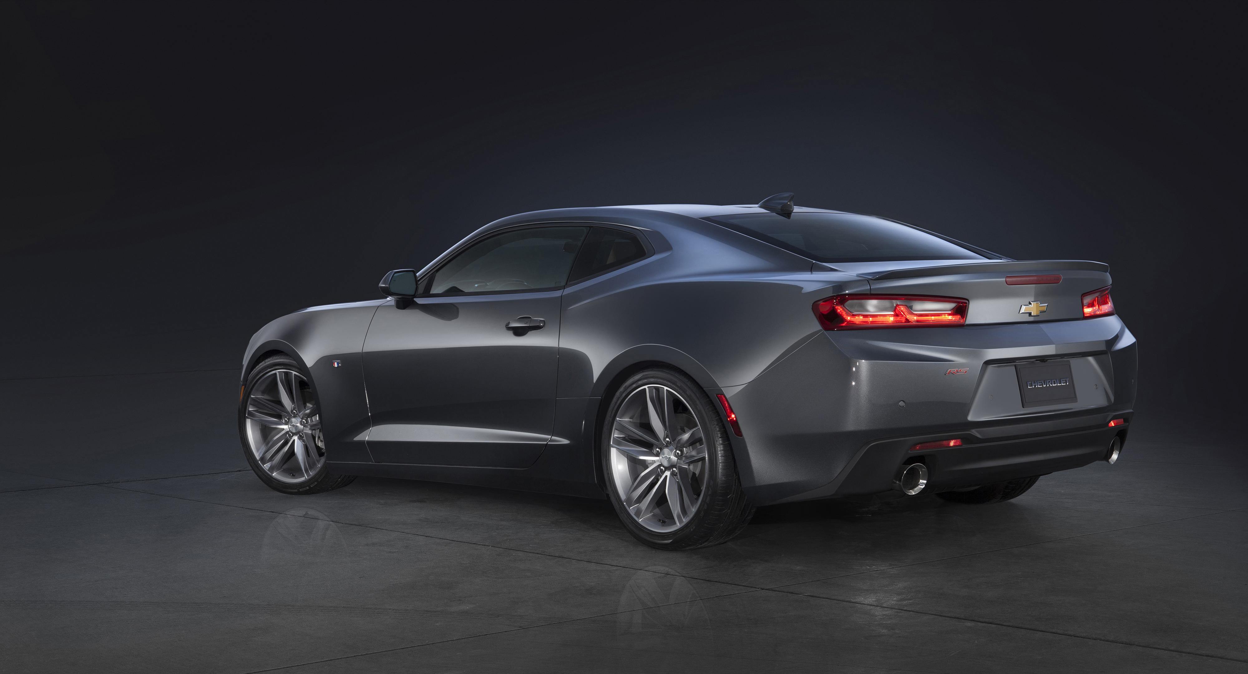 2016 Chevrolet Camaro: GM Says The Sixth-Generation Camaro Has Been Completely Overhauled, With More Muscle Than The Ford Mustang