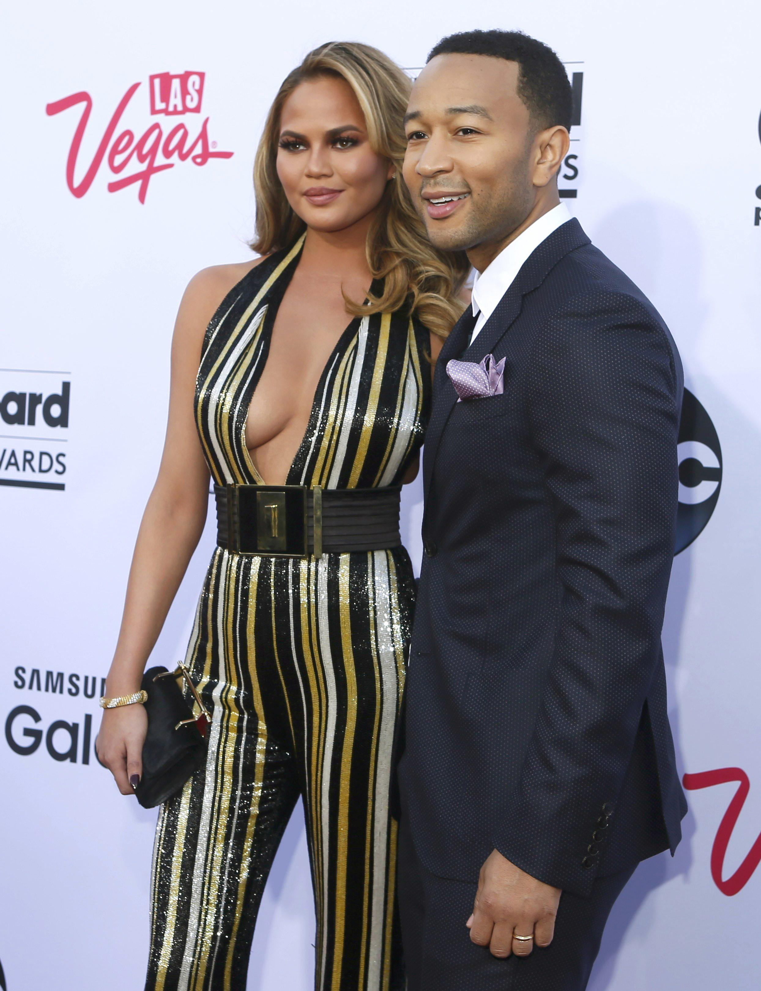 Chrissy and John Legend