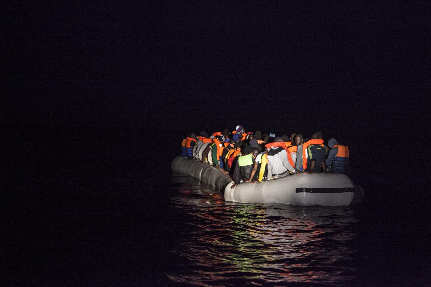 Mediterranean Refugees Migrant Offshore Aid Station (MOAS) 3