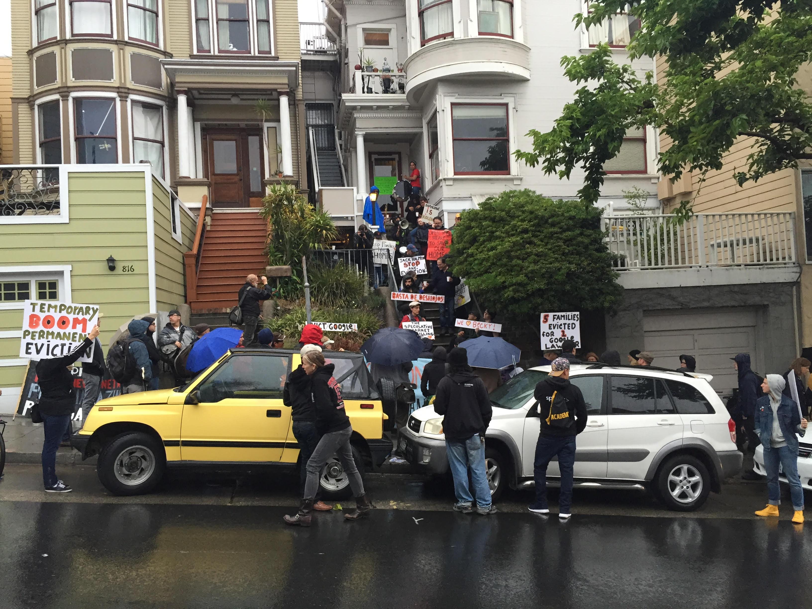 San Francisco eviction