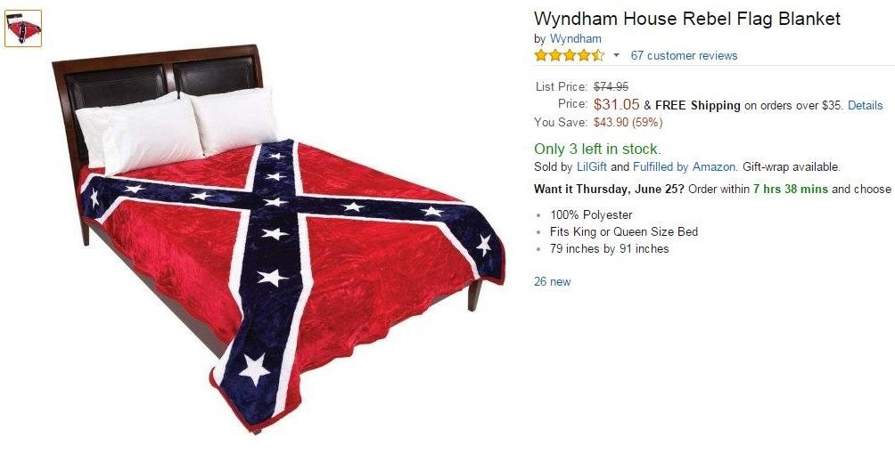Confederate Blanket