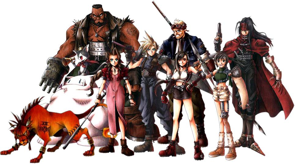 Final Fantasy 7 cast