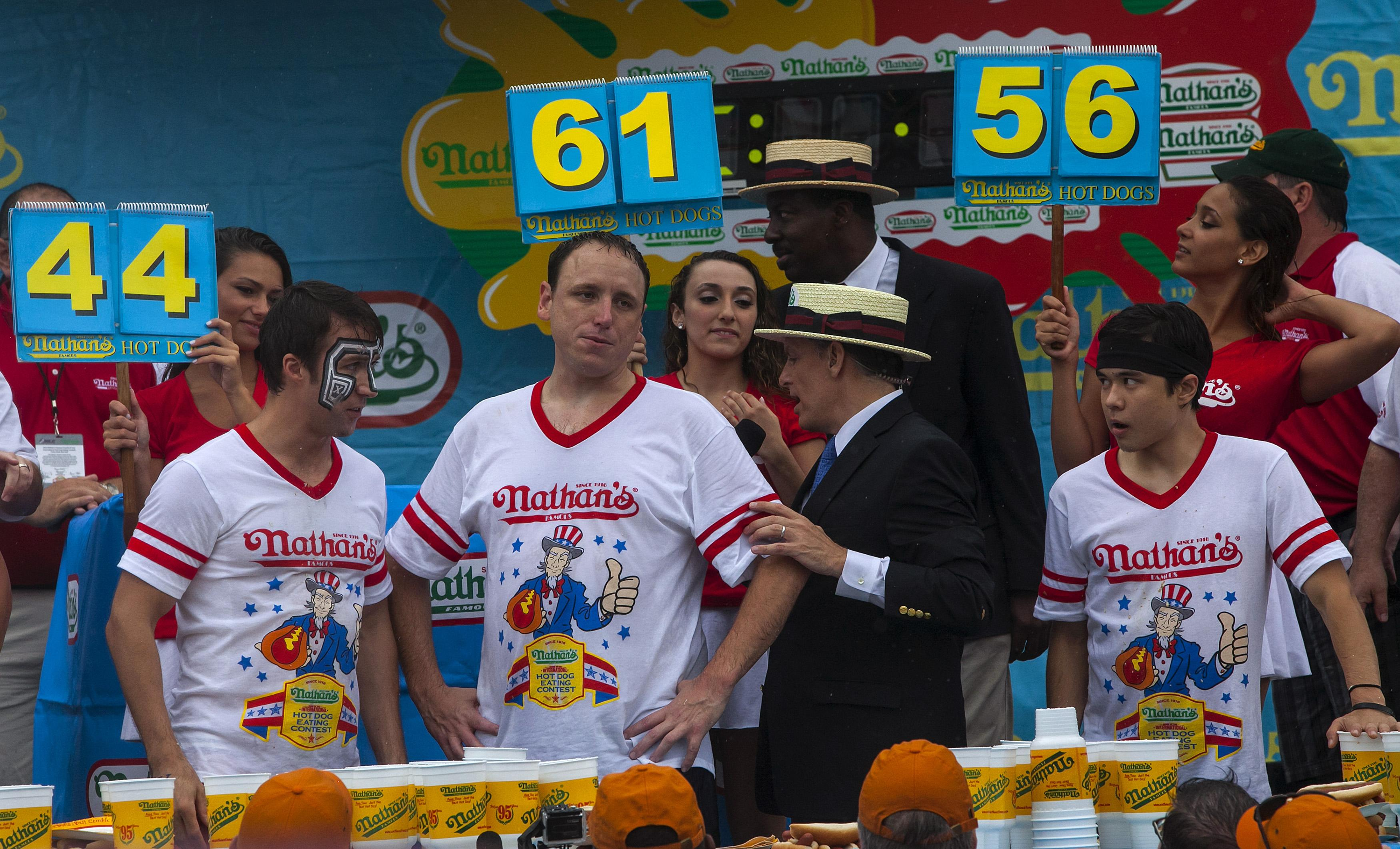 Nathan's Hot Dog Contest