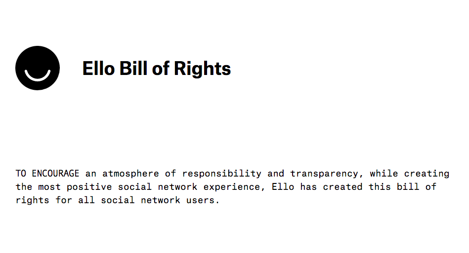 ello bill of rights