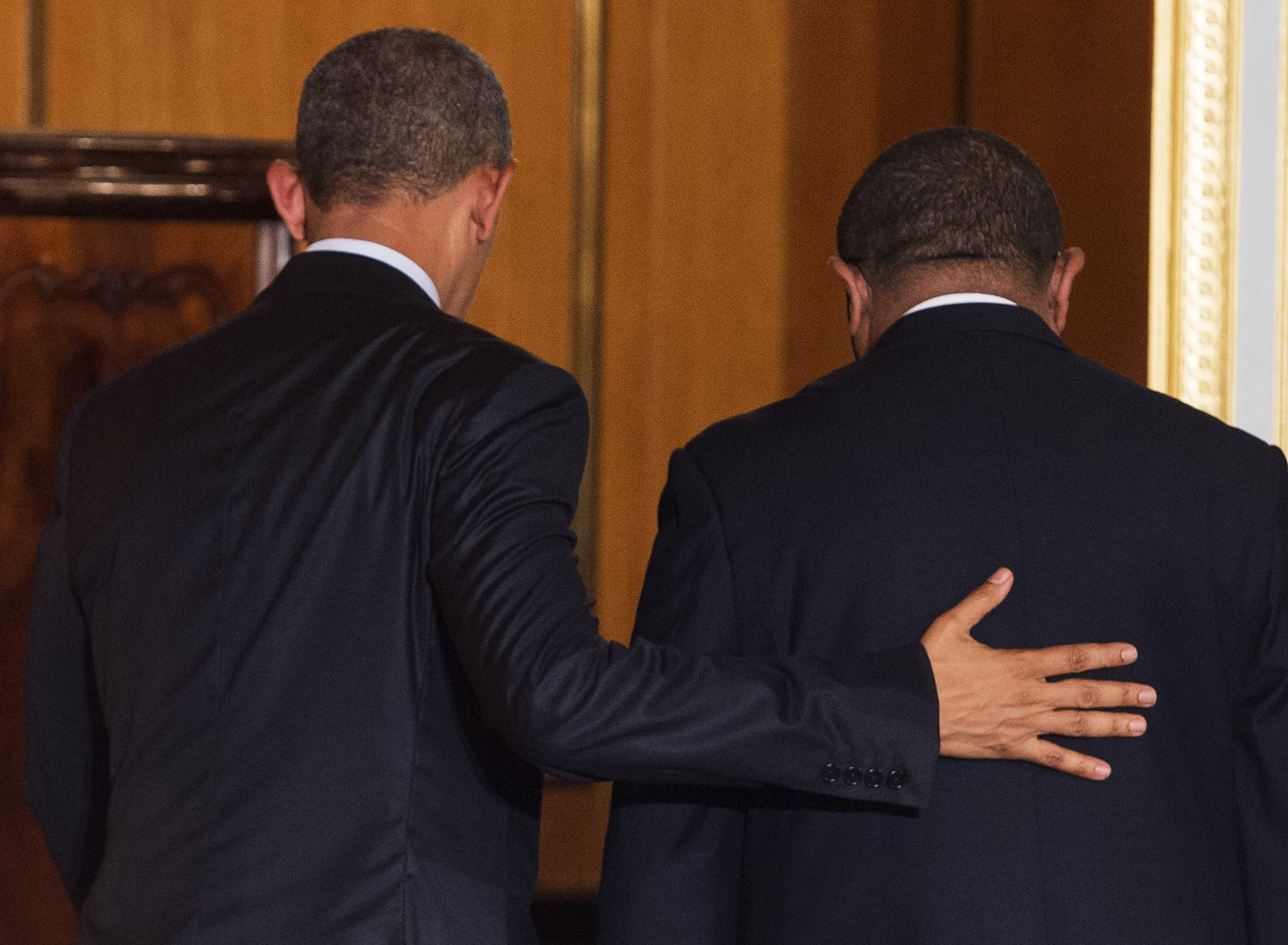Barack Obama and Hailemariam Desalegn