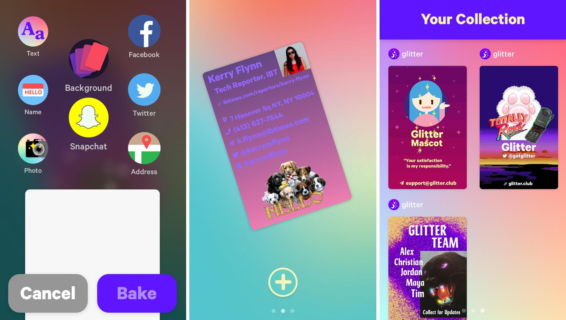 Meet Glitter A Mobile App That Ensures You ll Never Run