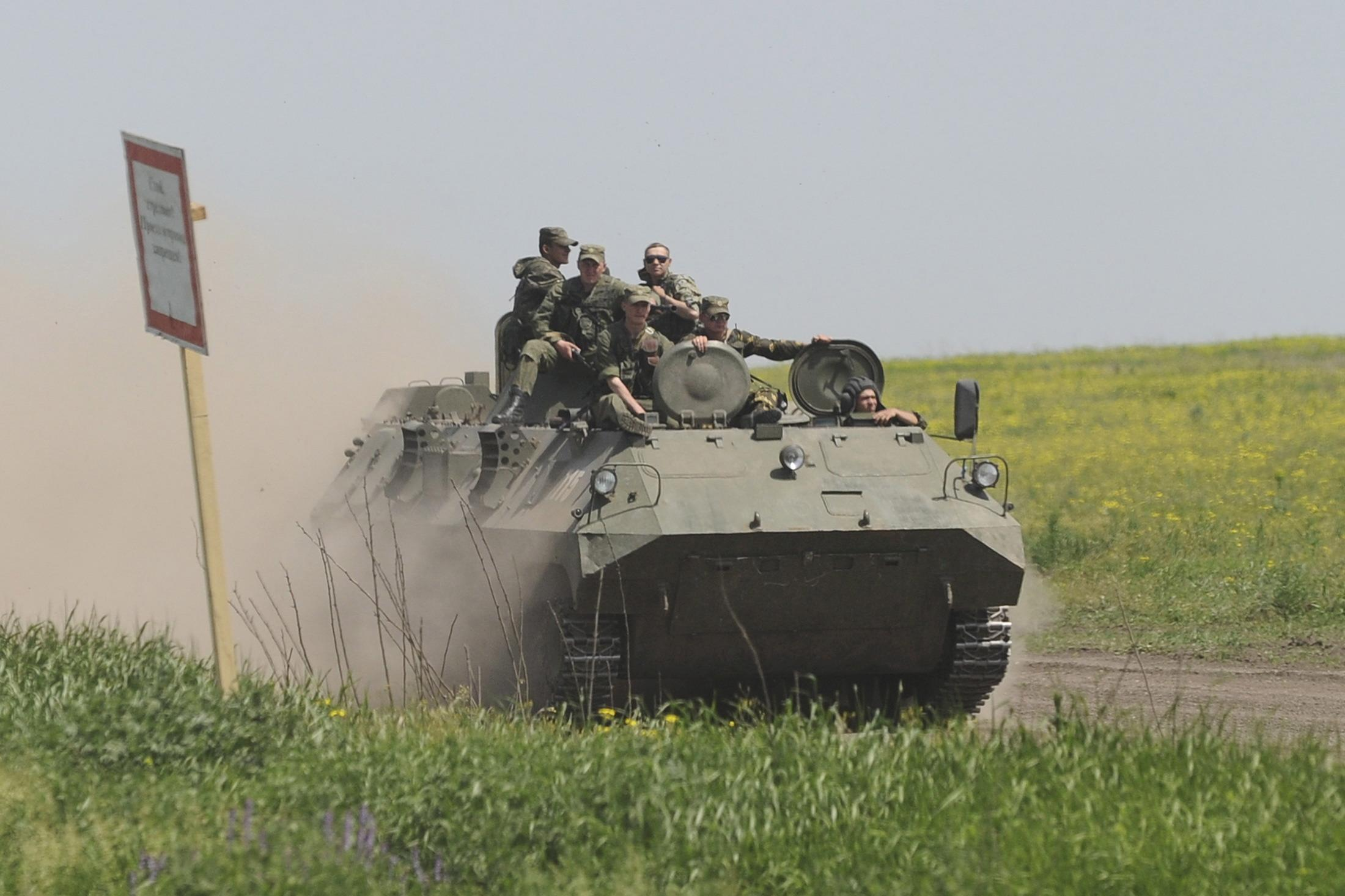 Russia-military-exercise