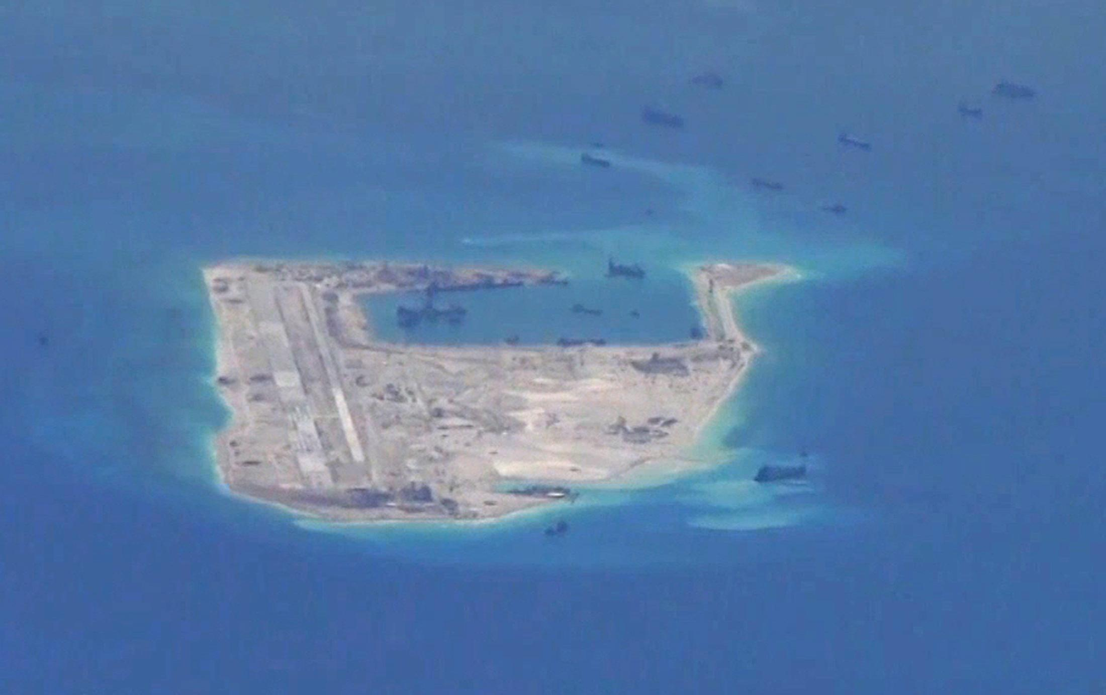 Spratly islands South China Sea dispute