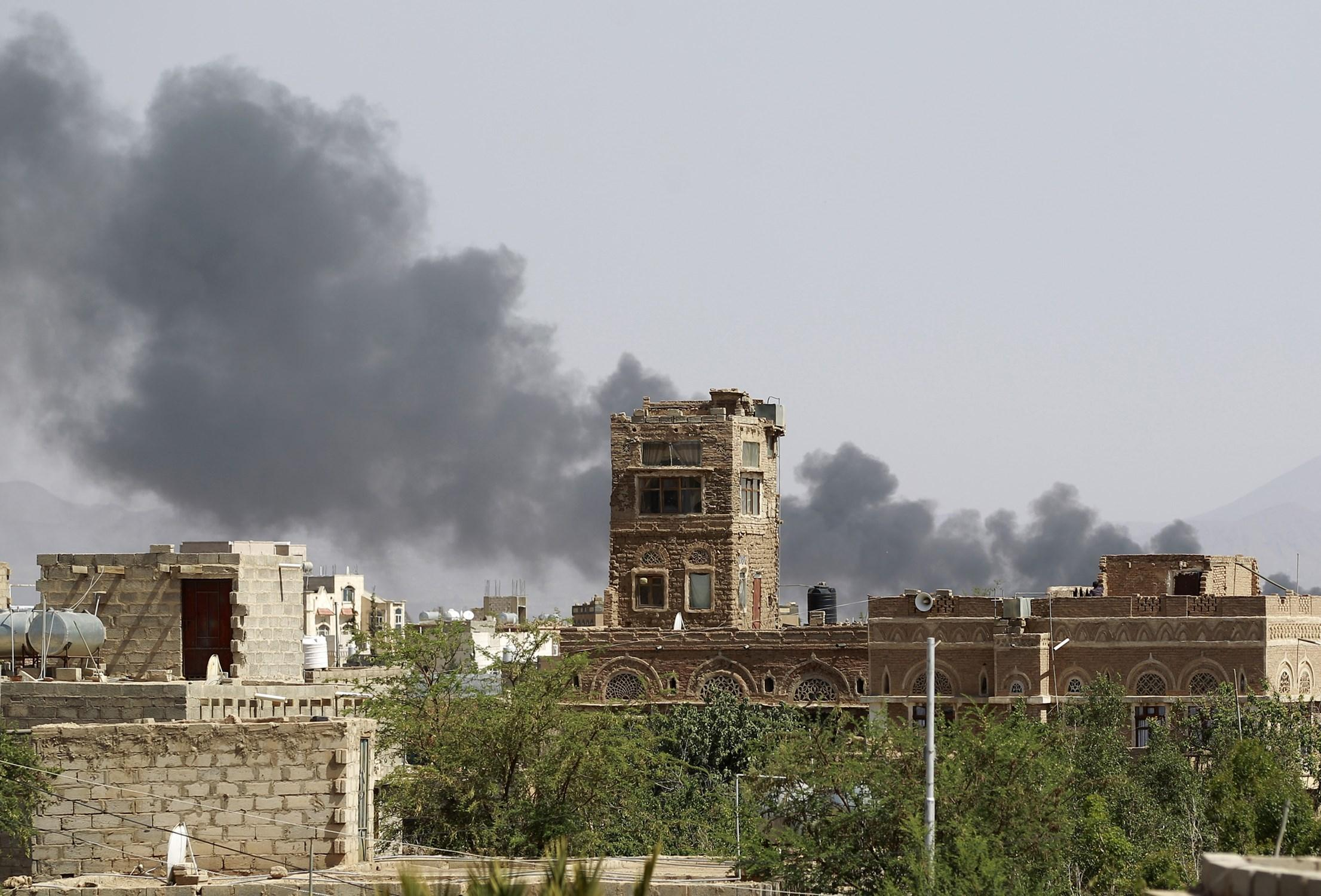 Saudi-Led Coalition Airstrike In Yemen