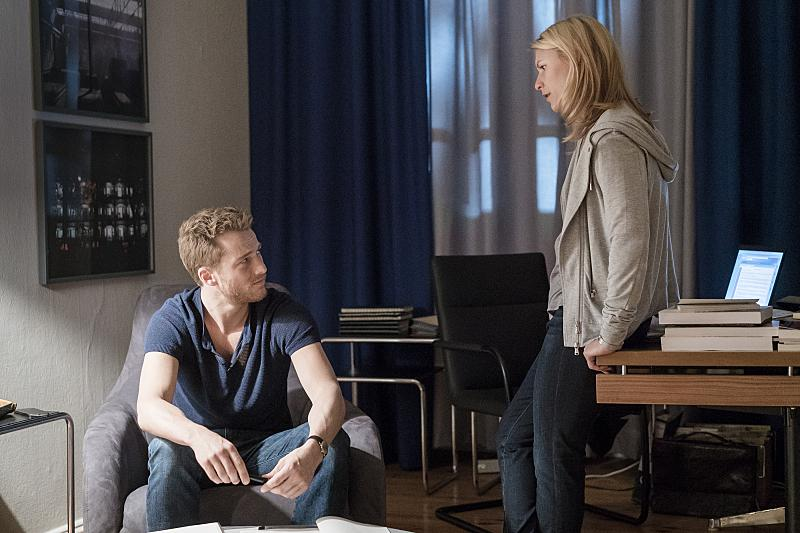 Carrie Mathison's new boyfriend season 5 homeland
