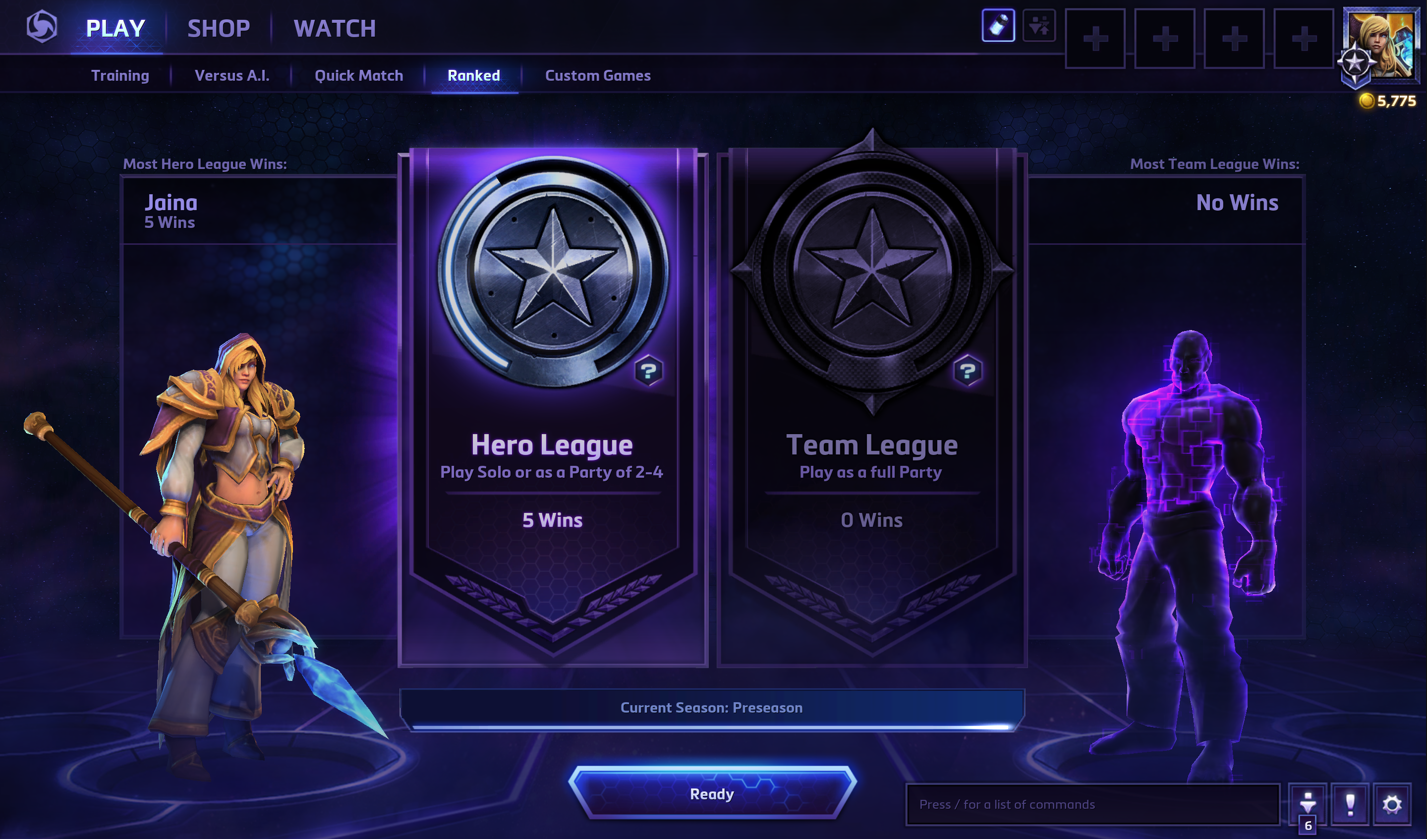 Heroes of the Storm Hero Team League