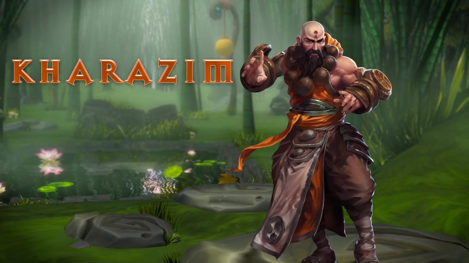 Heroes of the Storm Kharazim Monk