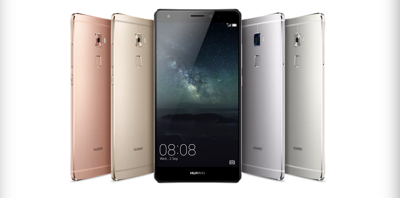 Huawei Mate S smartphone with Force Touch