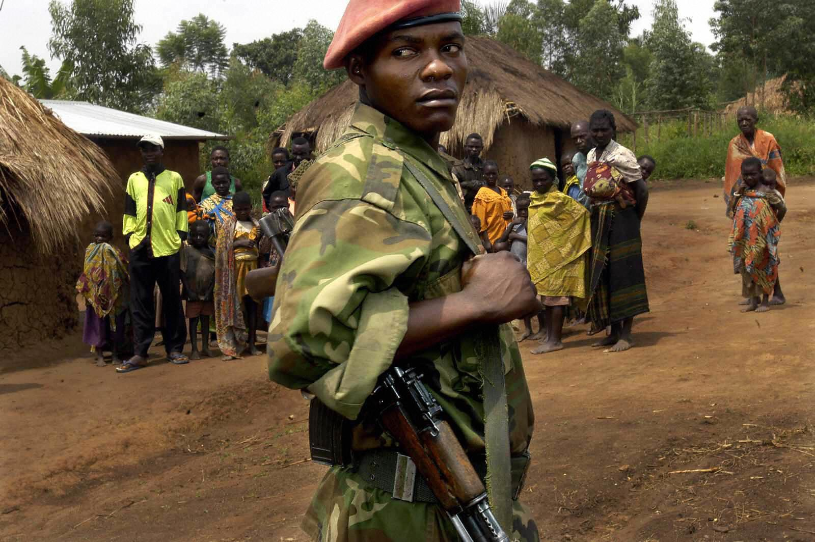 Union of Congolese Patriots soldier