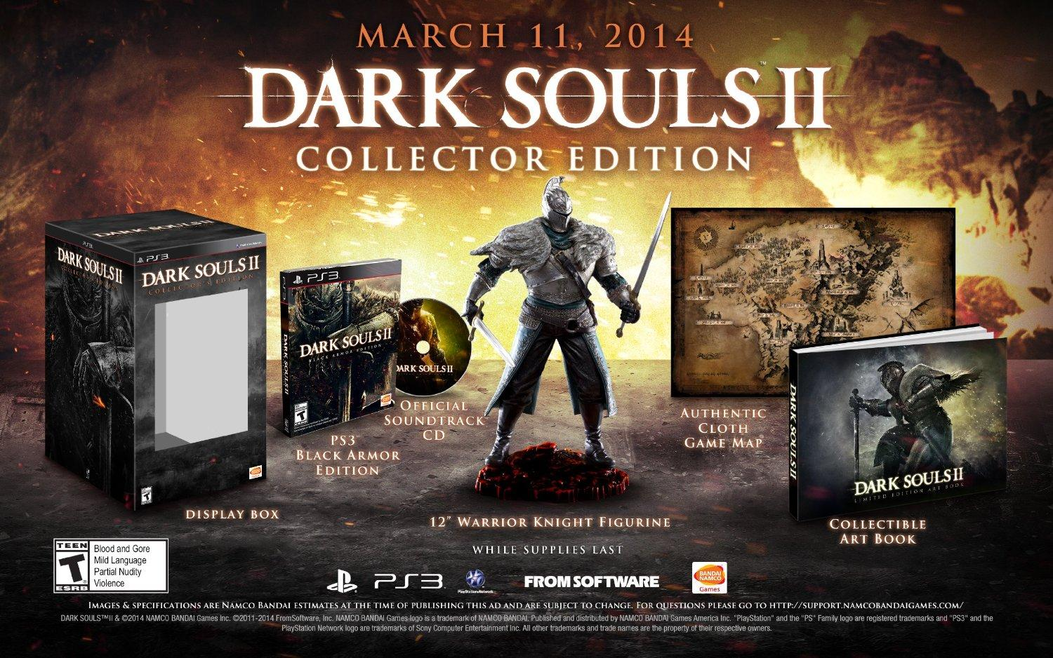 Dark Souls 2 Collector's Edition