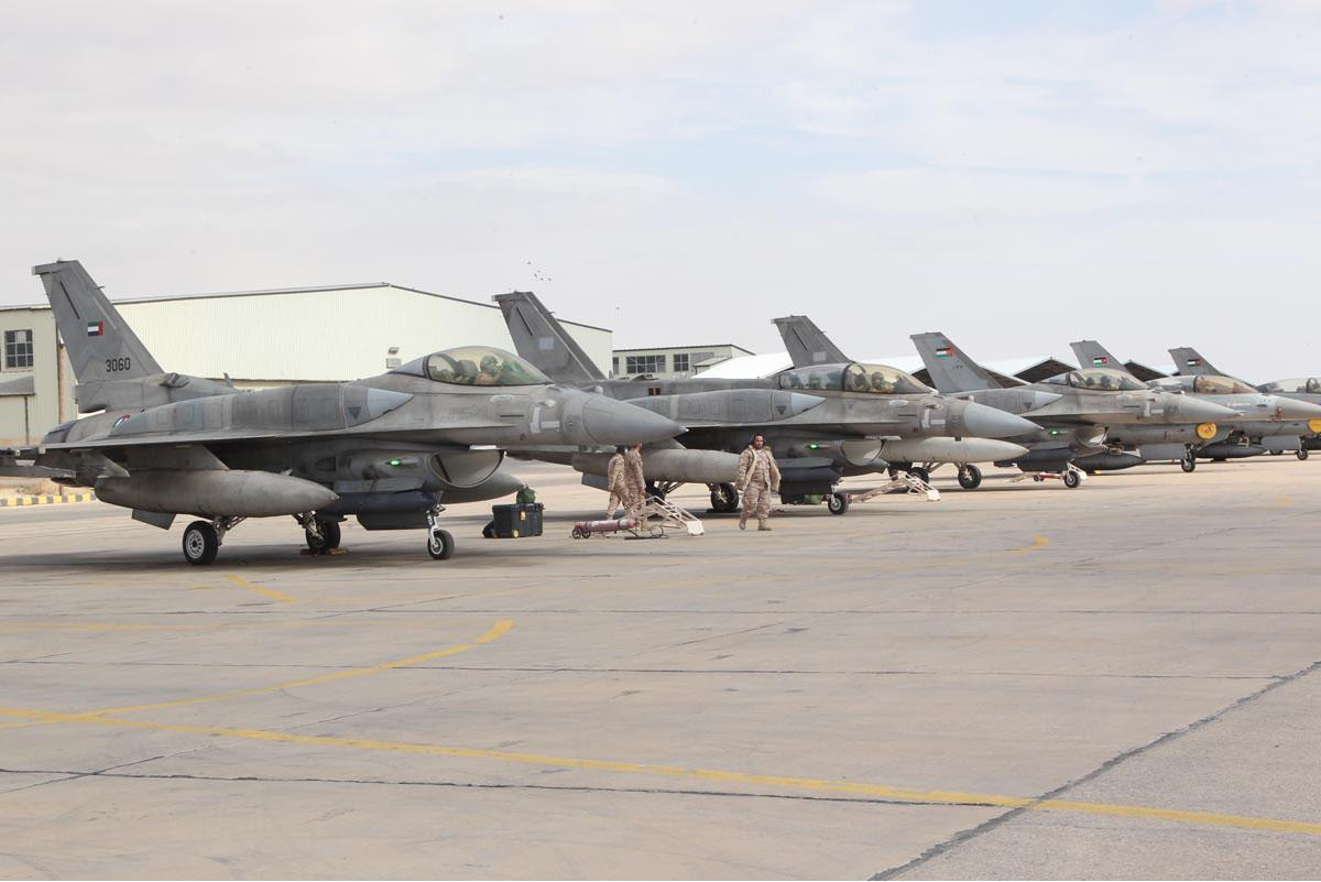 United Arab Emirates (UAE) F-16 Fighters