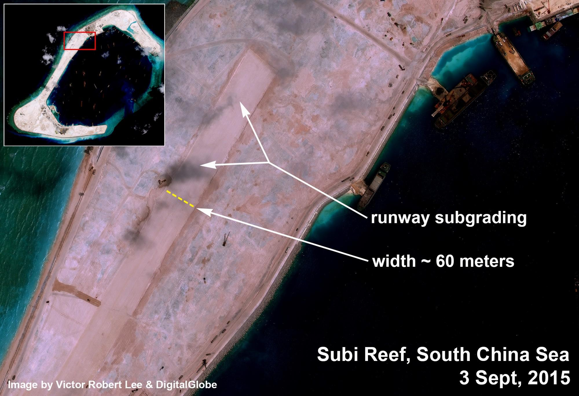 South China Sea runway