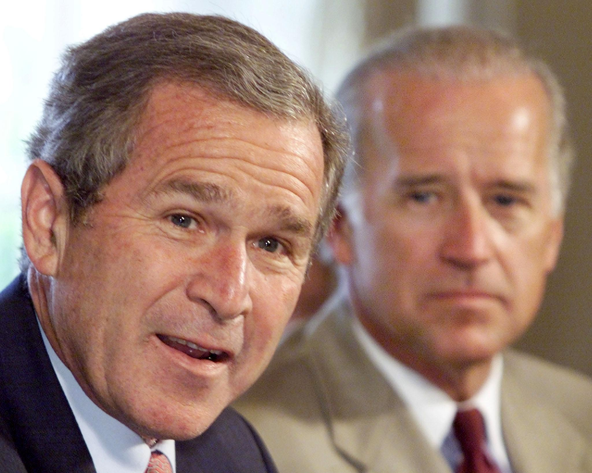 Biden and Bush