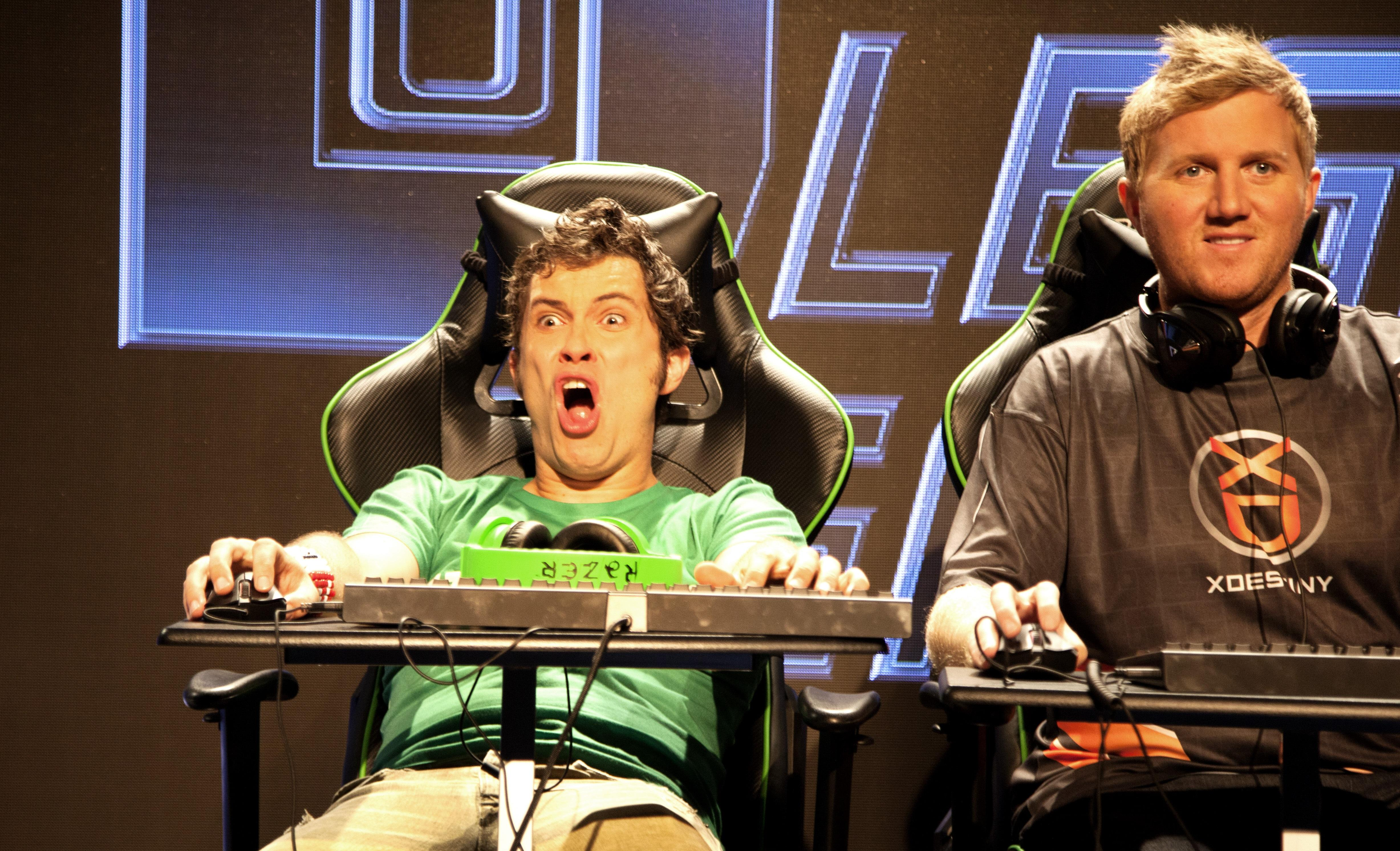 Toby Turner and Jonathan Wendel Legends of Gaming