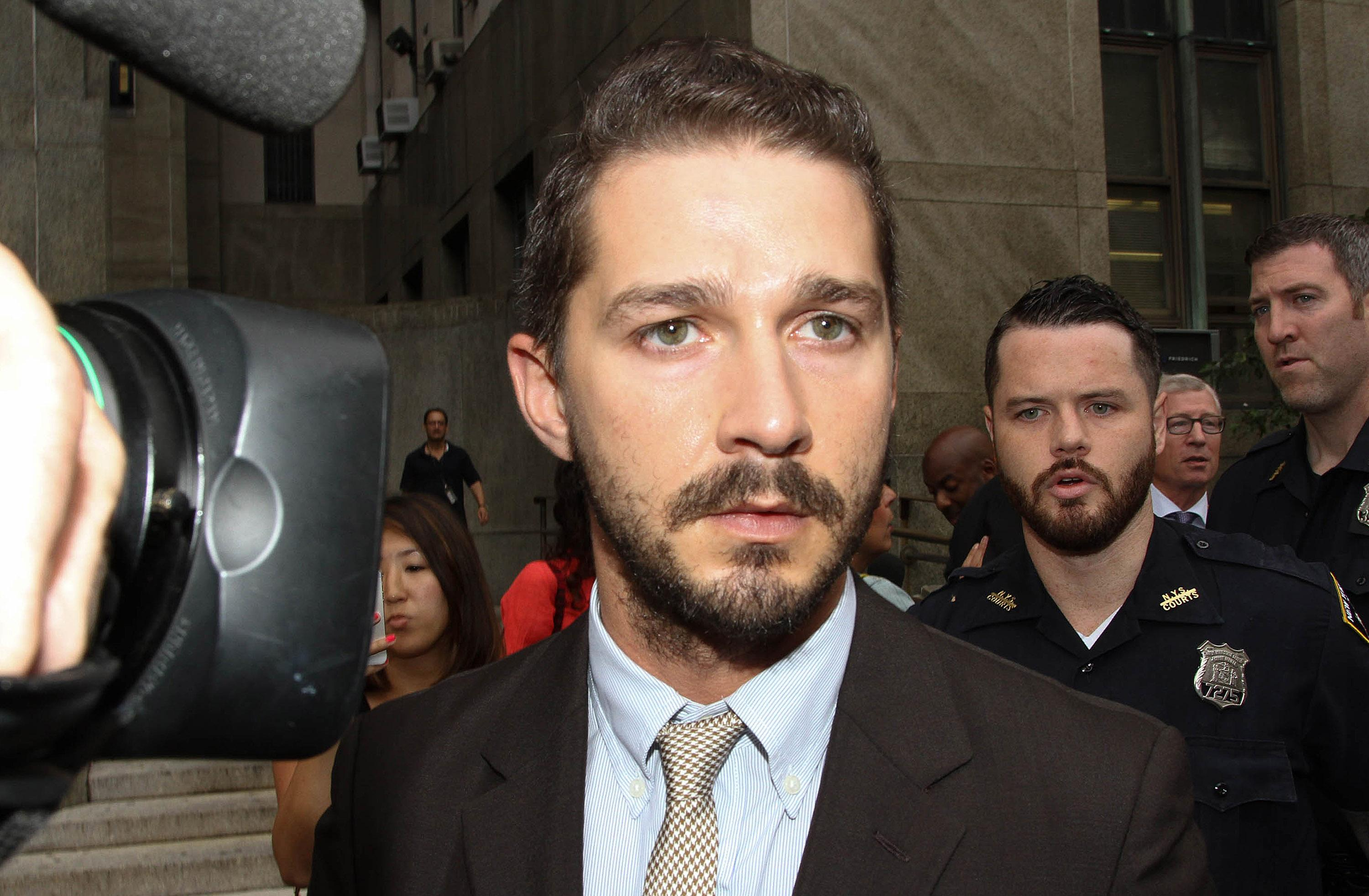 Shia LaBeouf arrested again