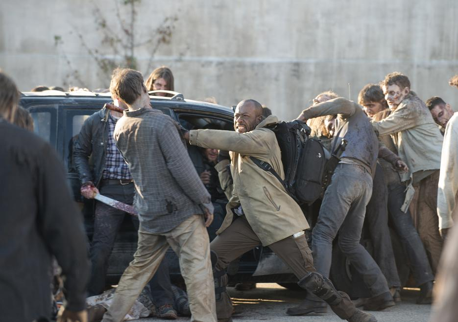 Walking Dead Morgan Daryl Aaron