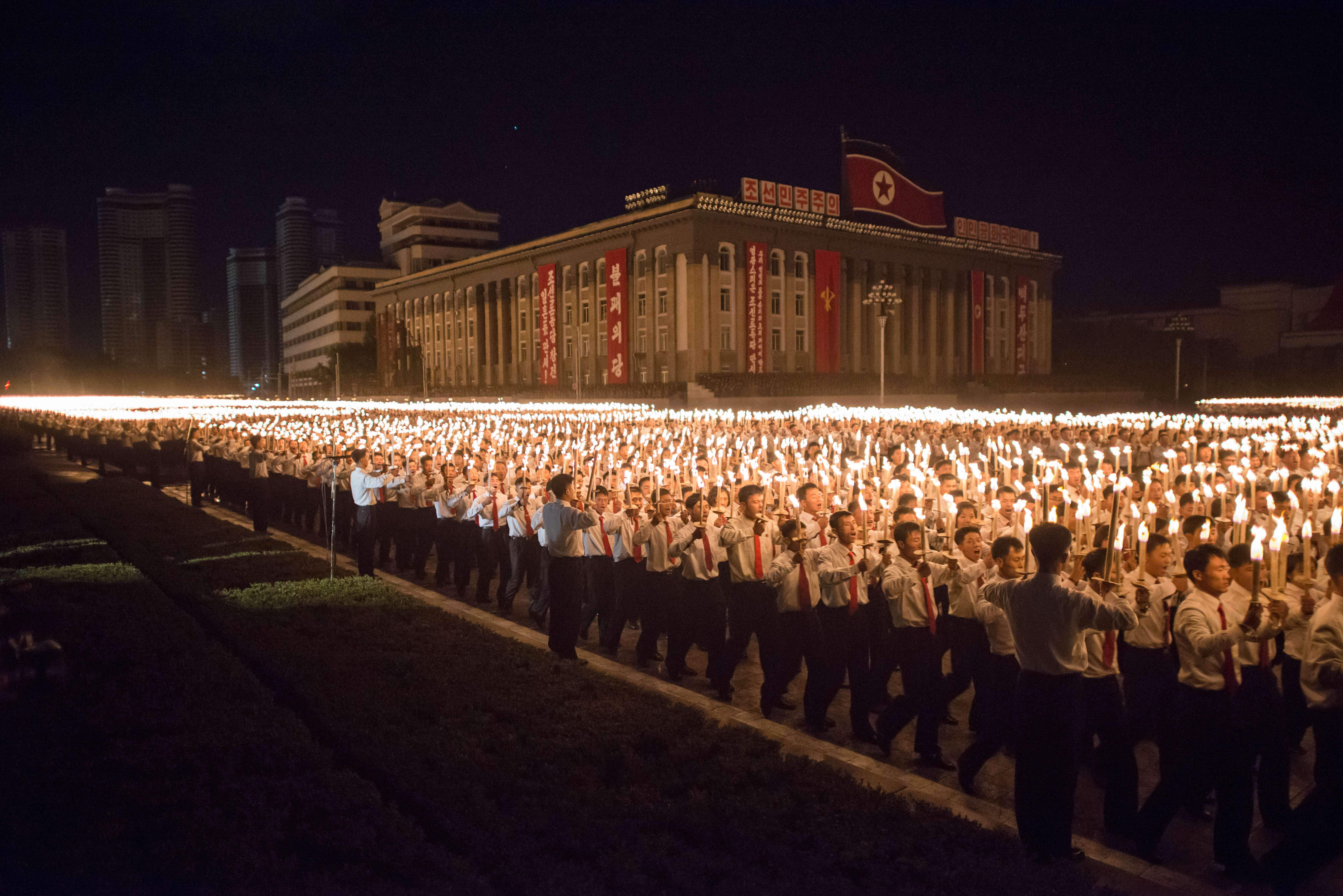 North Korea marks 70th anniversary of Workers' Party