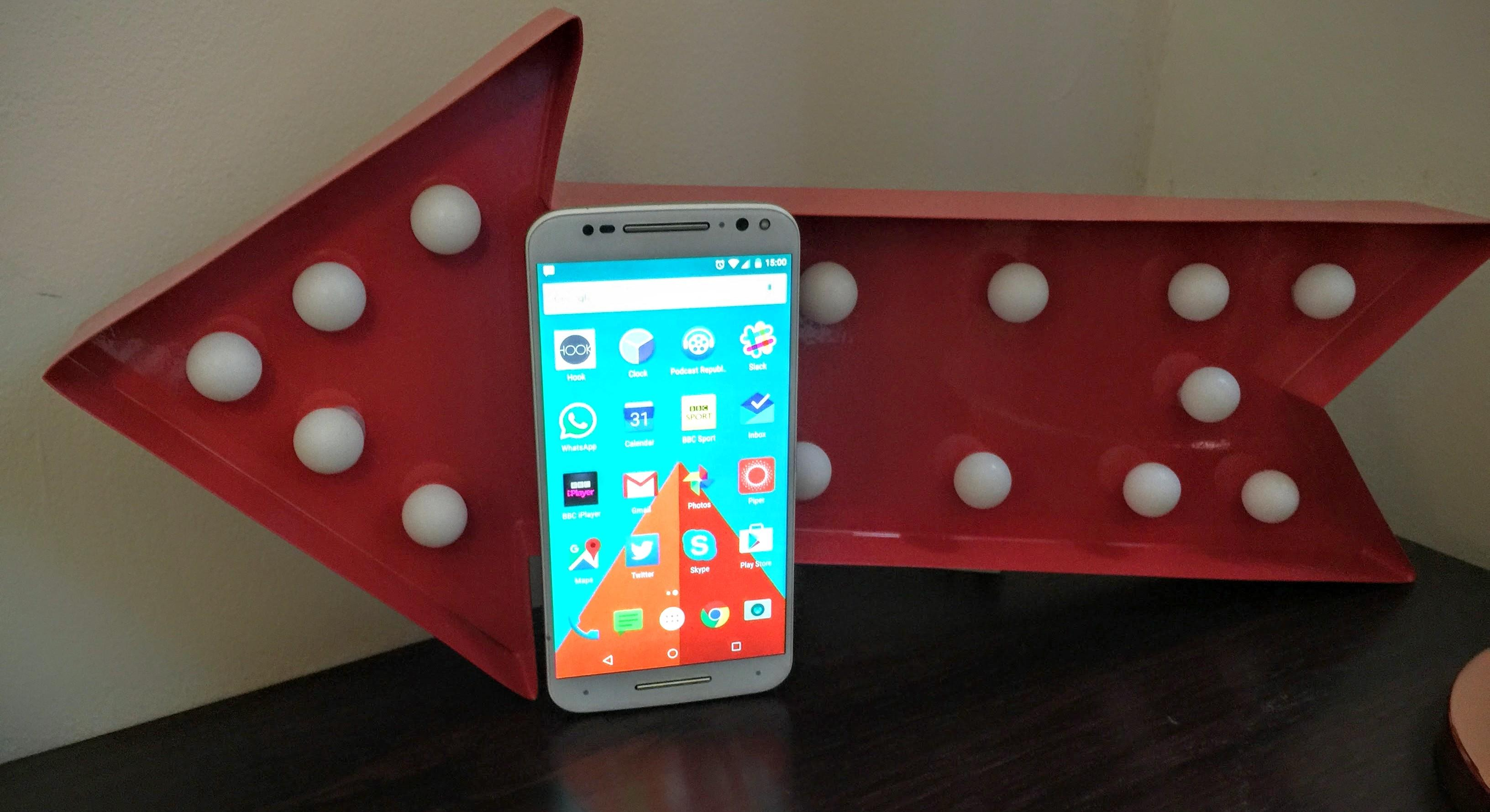 Moto X Pure Edition Review Design