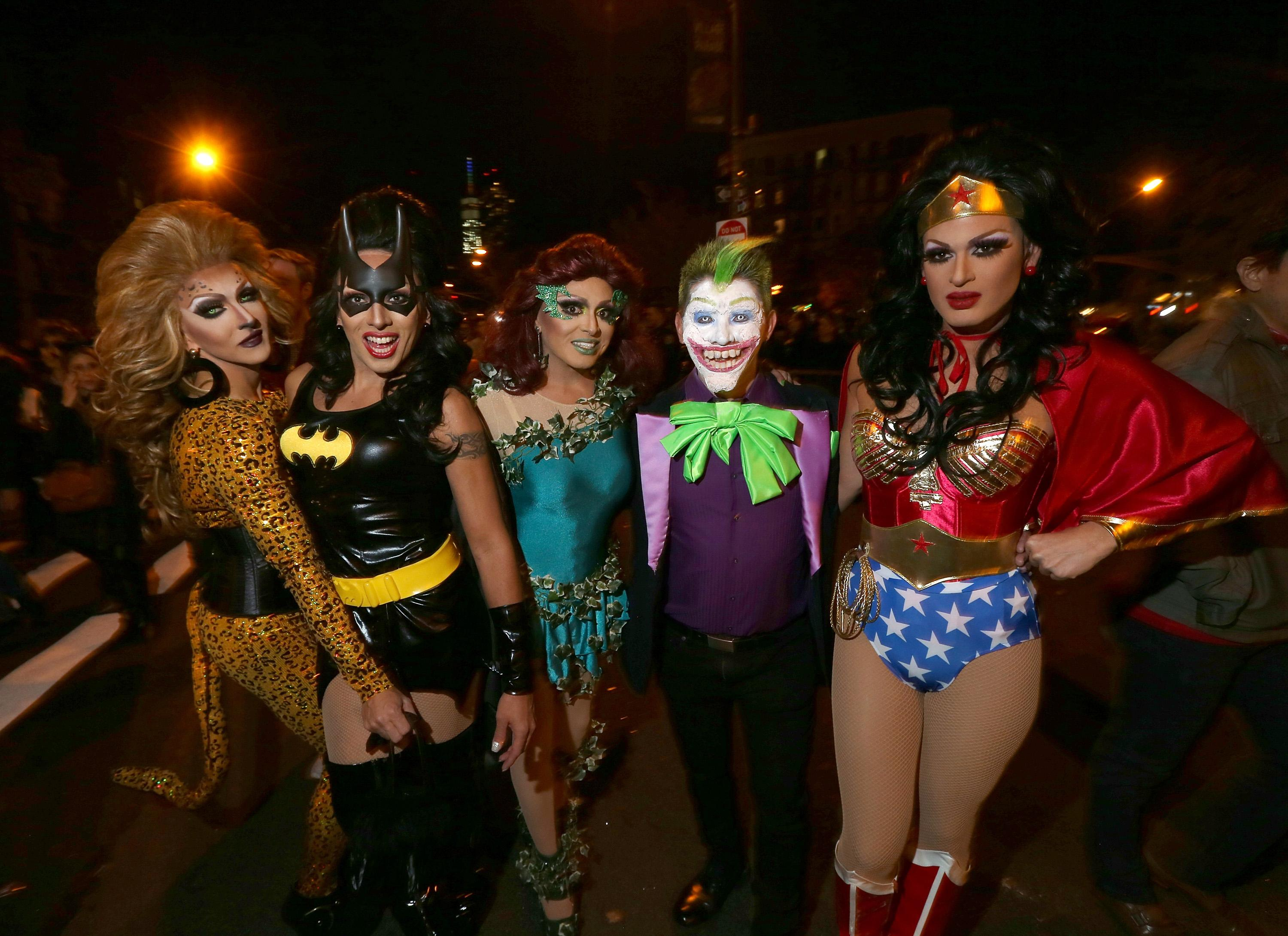 New York City Halloween Parade.New York City Halloween Parade 2015 Best Costumes Moments From