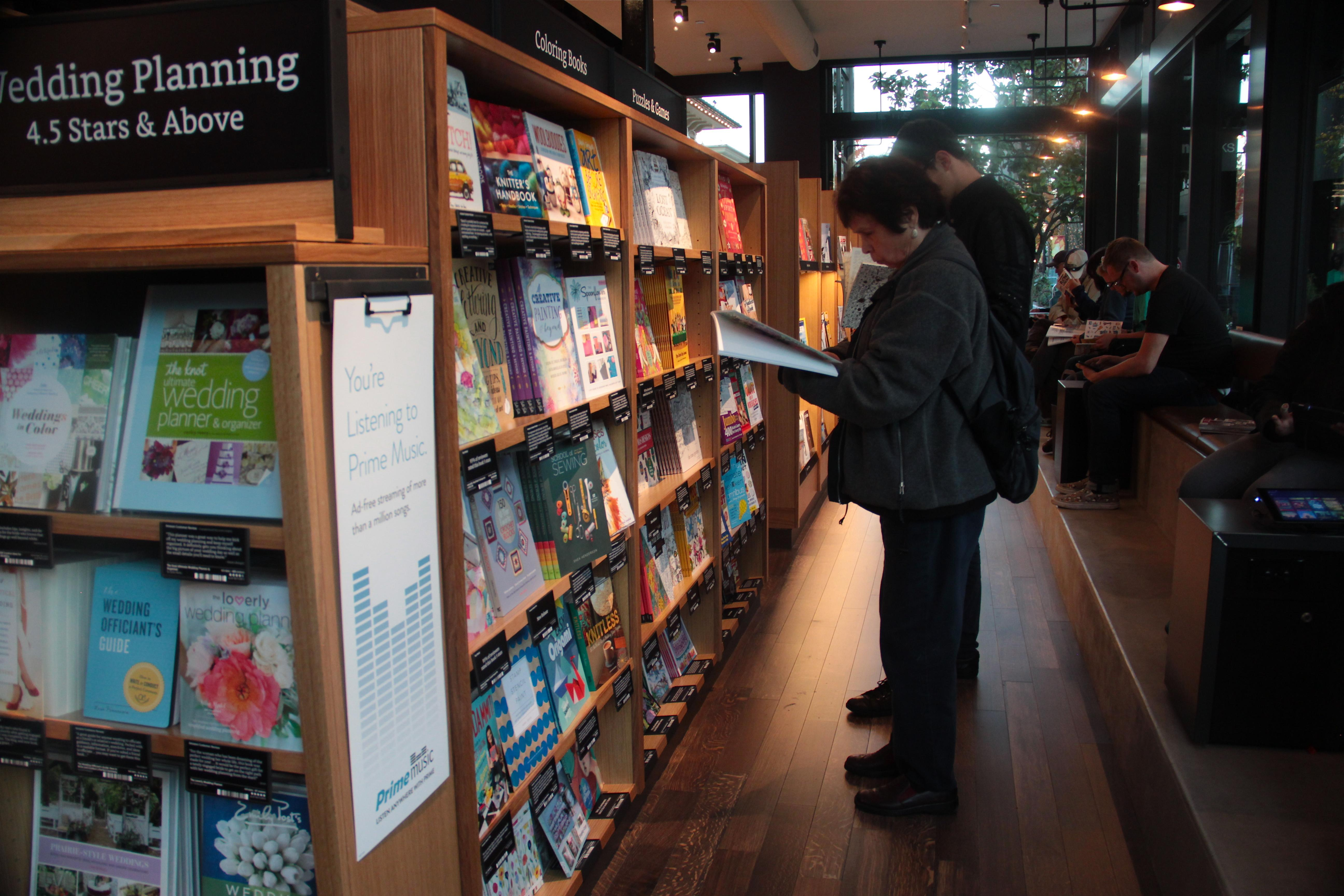 Amazon's First Brick-And-Mortar Bookstore Befuddles Seattle, Vexes