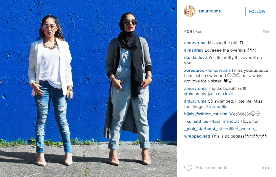 Meet The Hijabi Fashionistas Of Instagram Chic Muslim