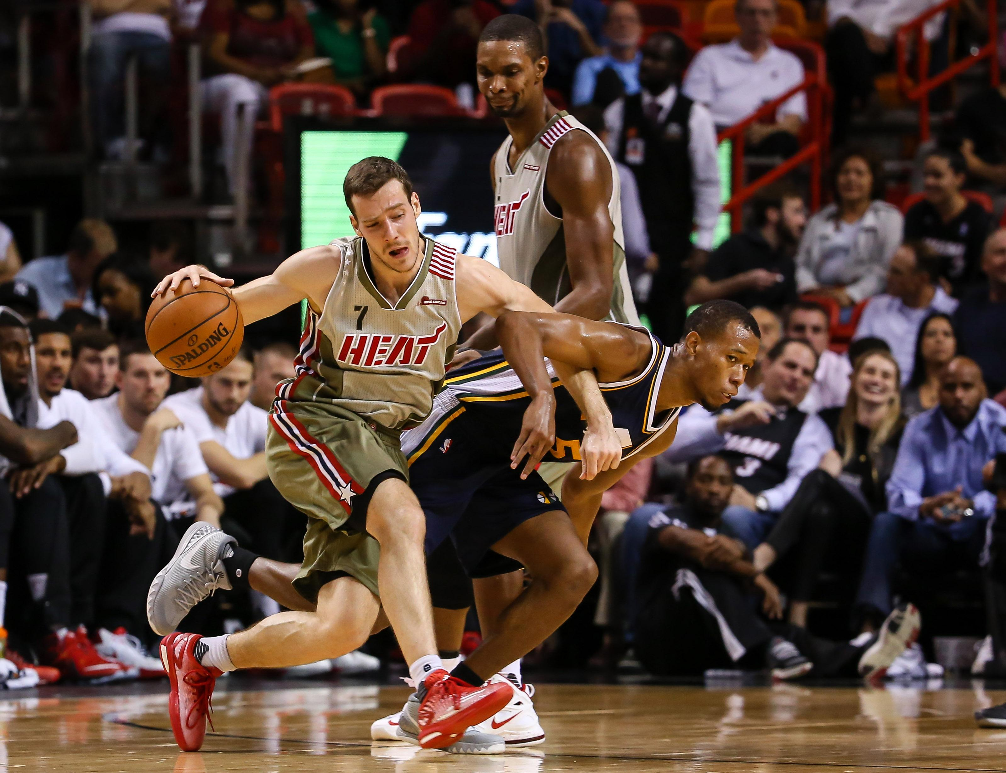 Miami Heat guard Goran Dragic