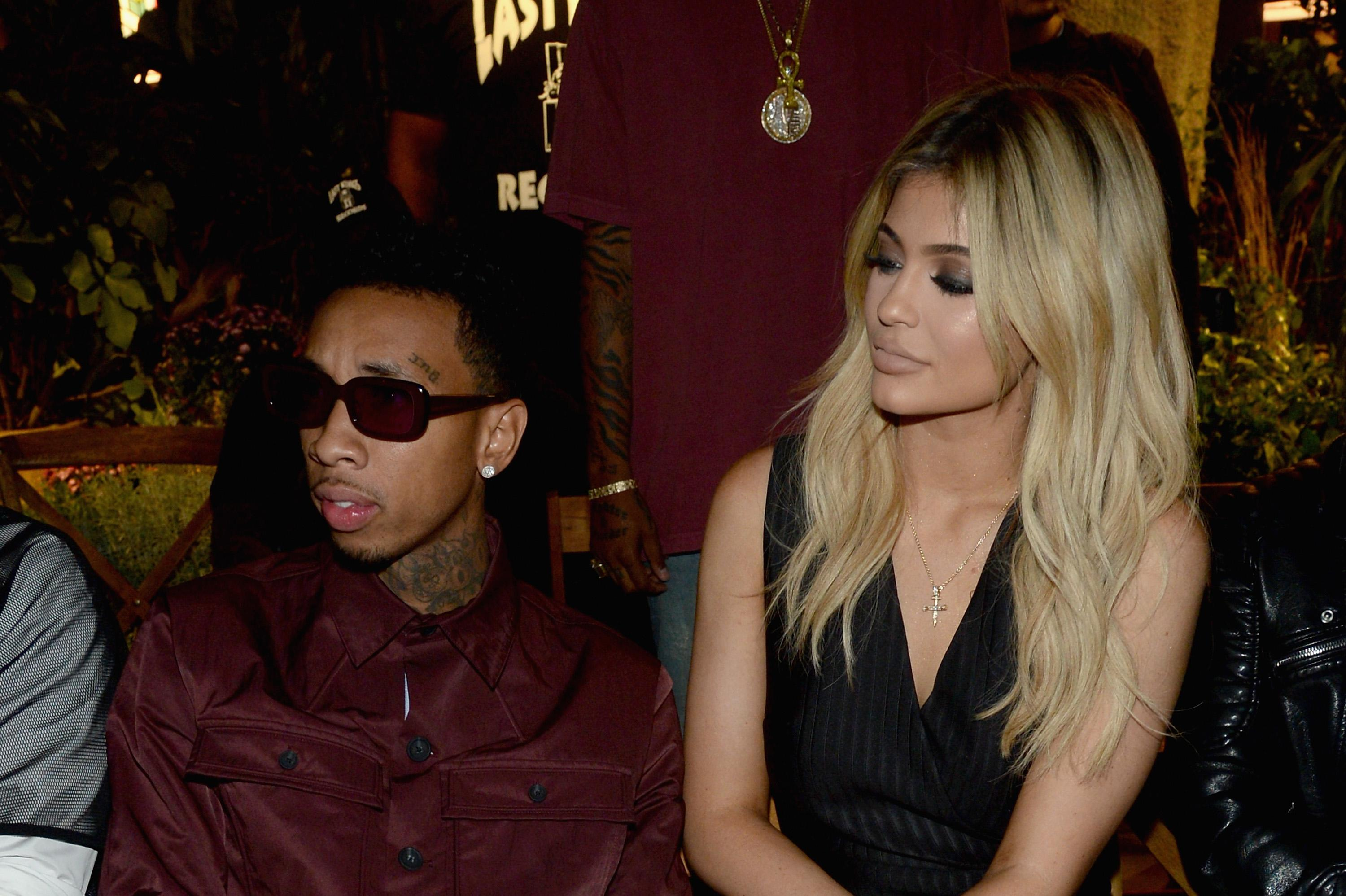 Tyga Kylie Jenner break busy work