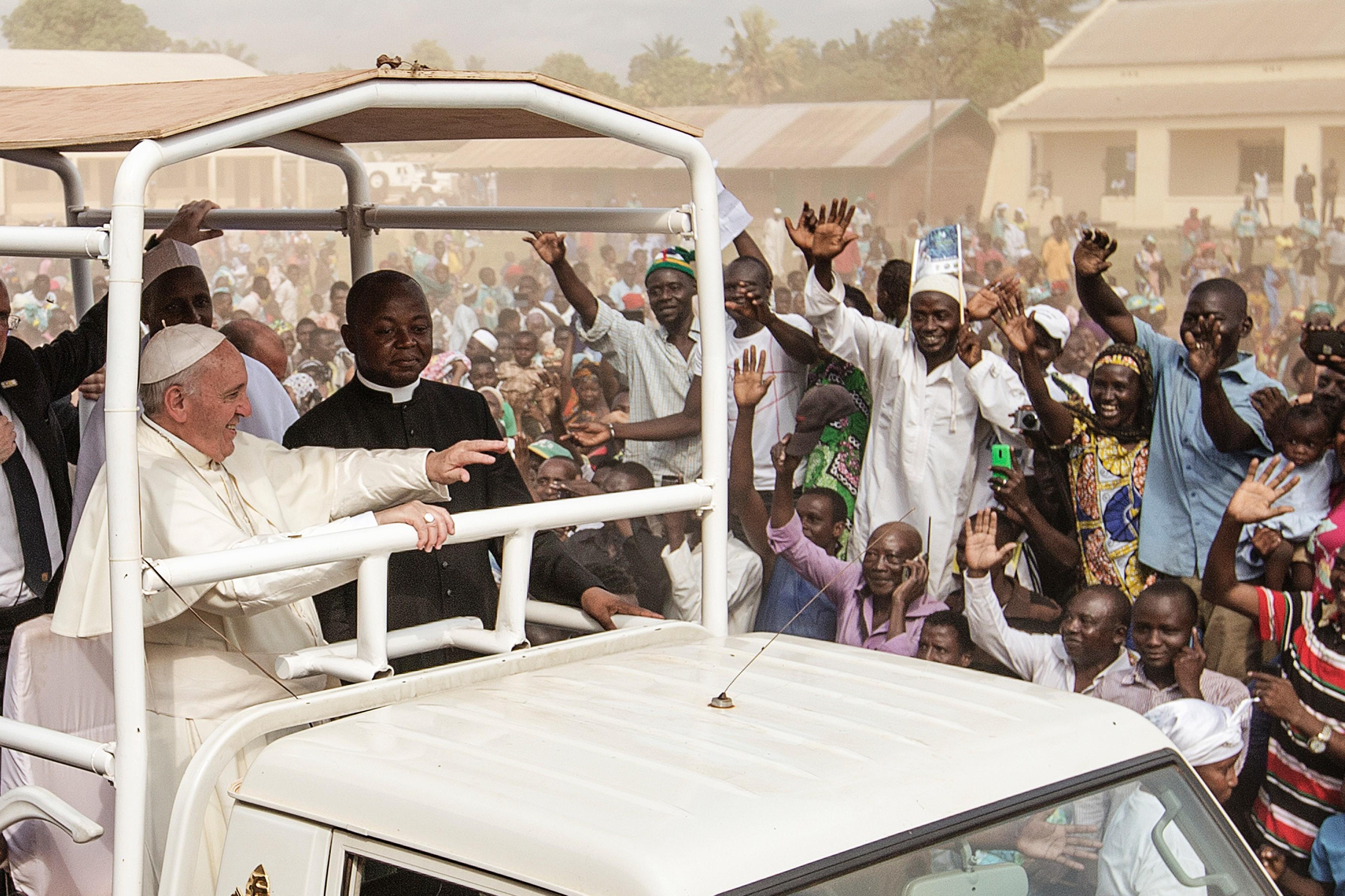 Pope Francis in CAR