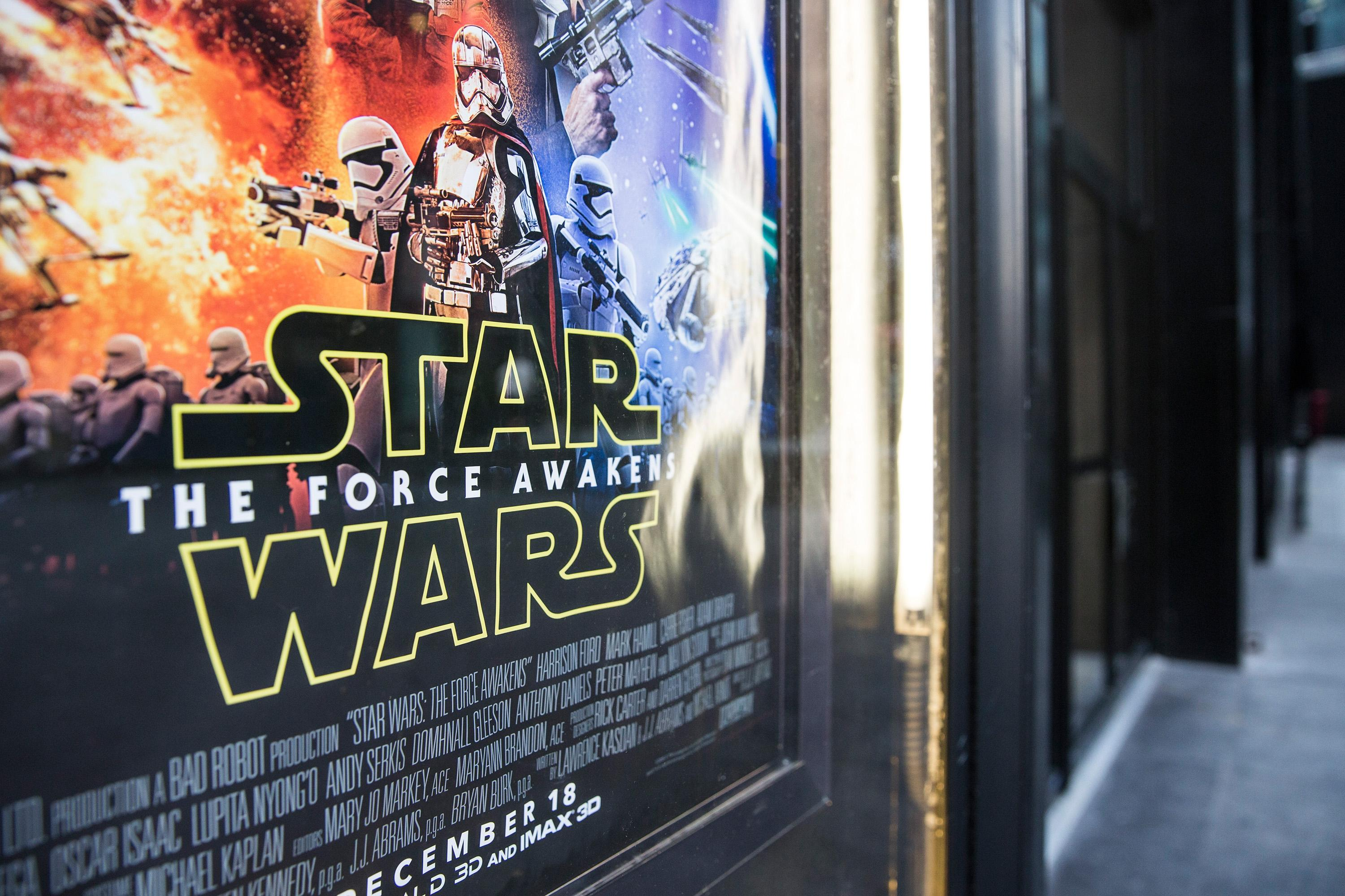 """Star Wars: The Force Awakens"""" poster"""