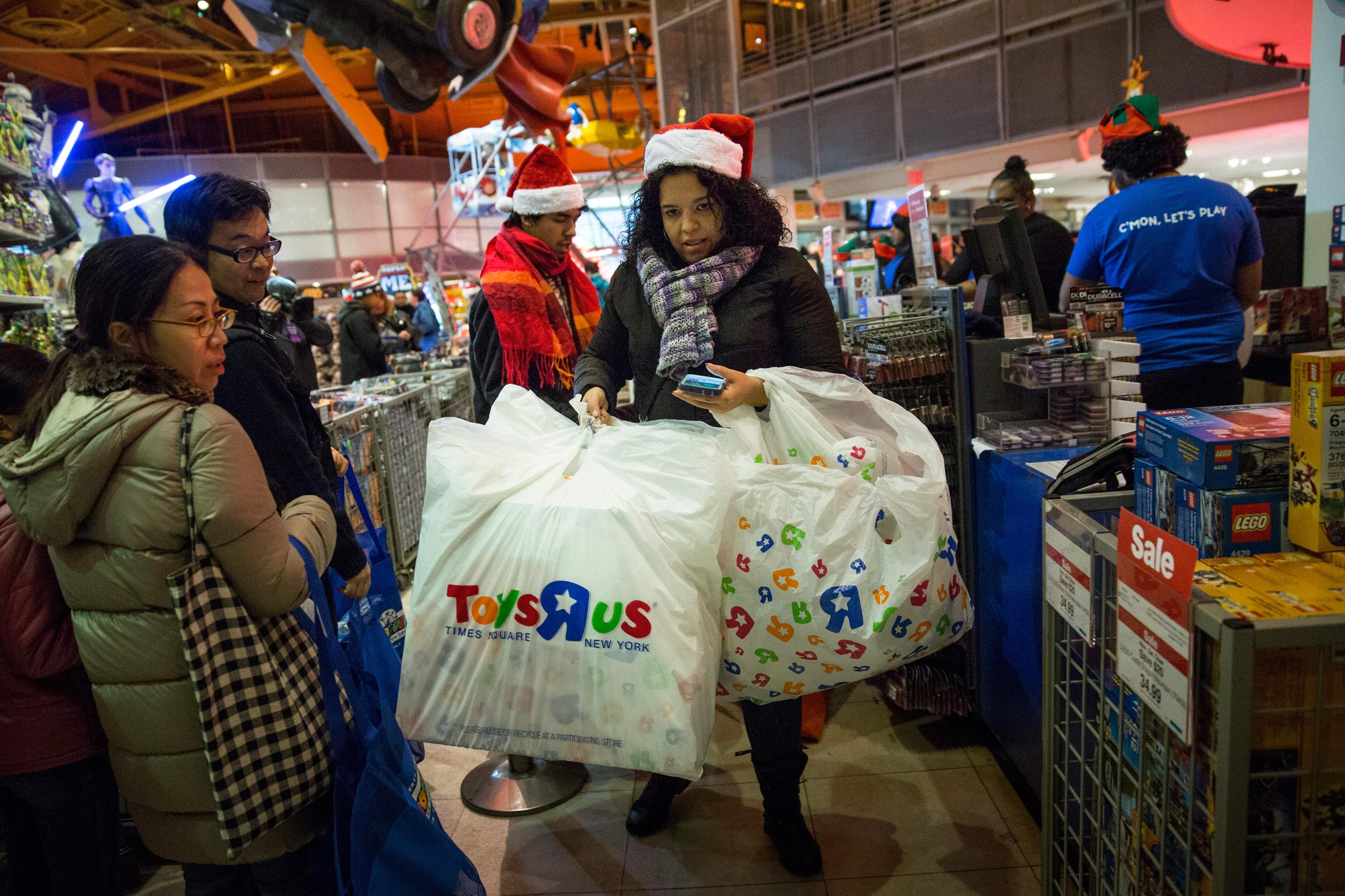 "Toys ""R"" Us shopper"