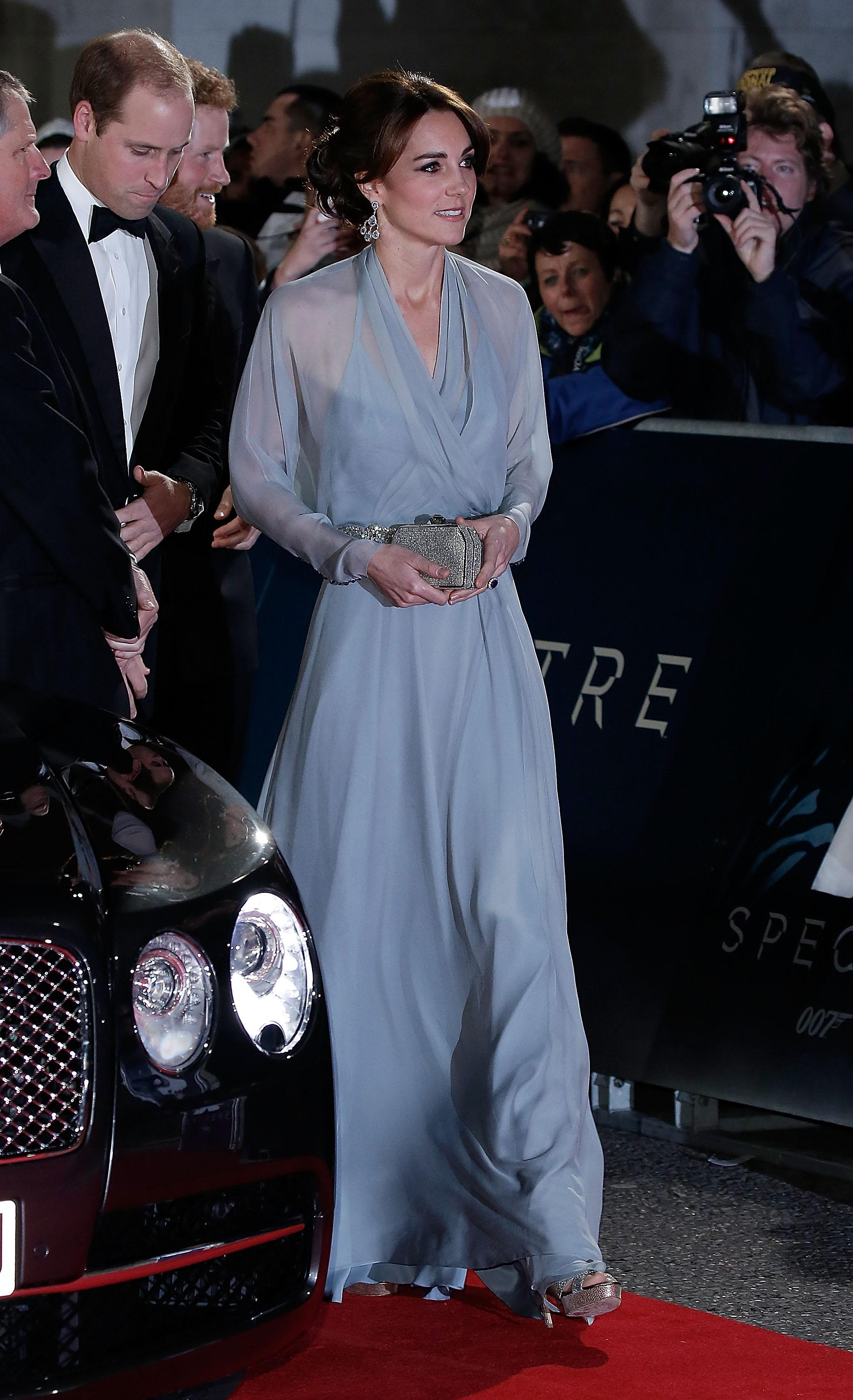 kate spectre premiere dress
