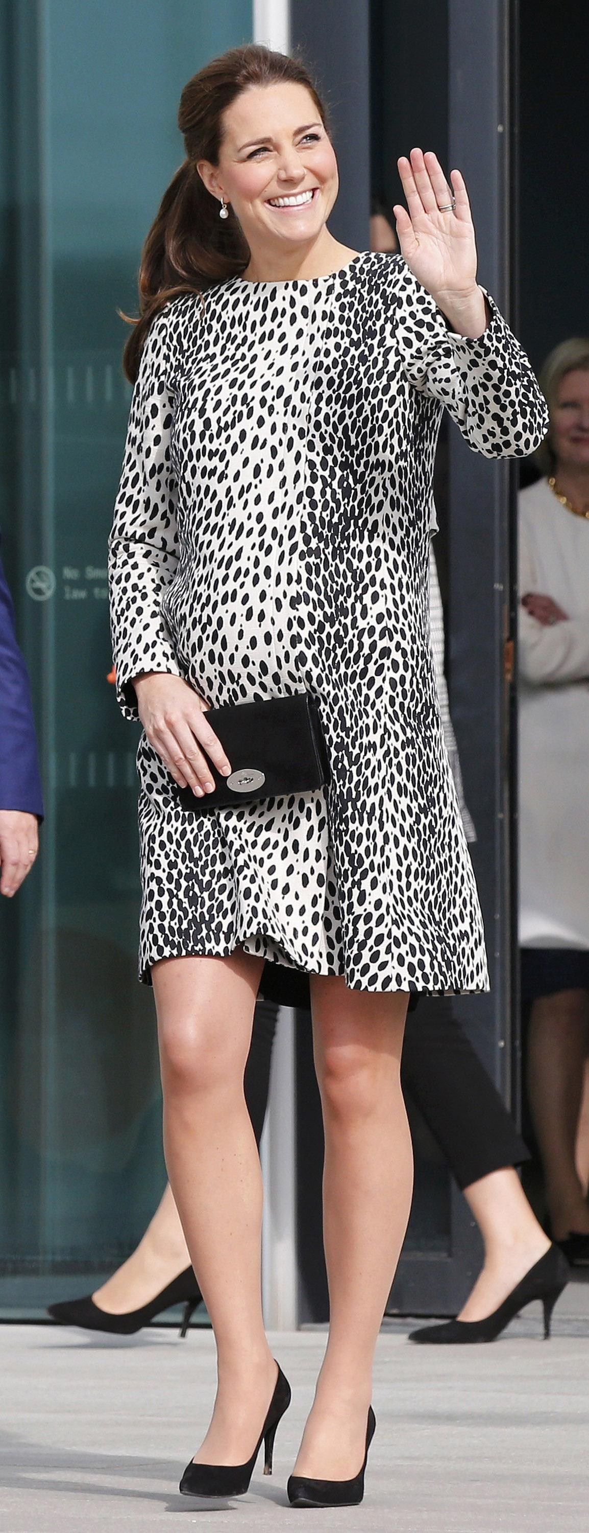 kate spotted coat