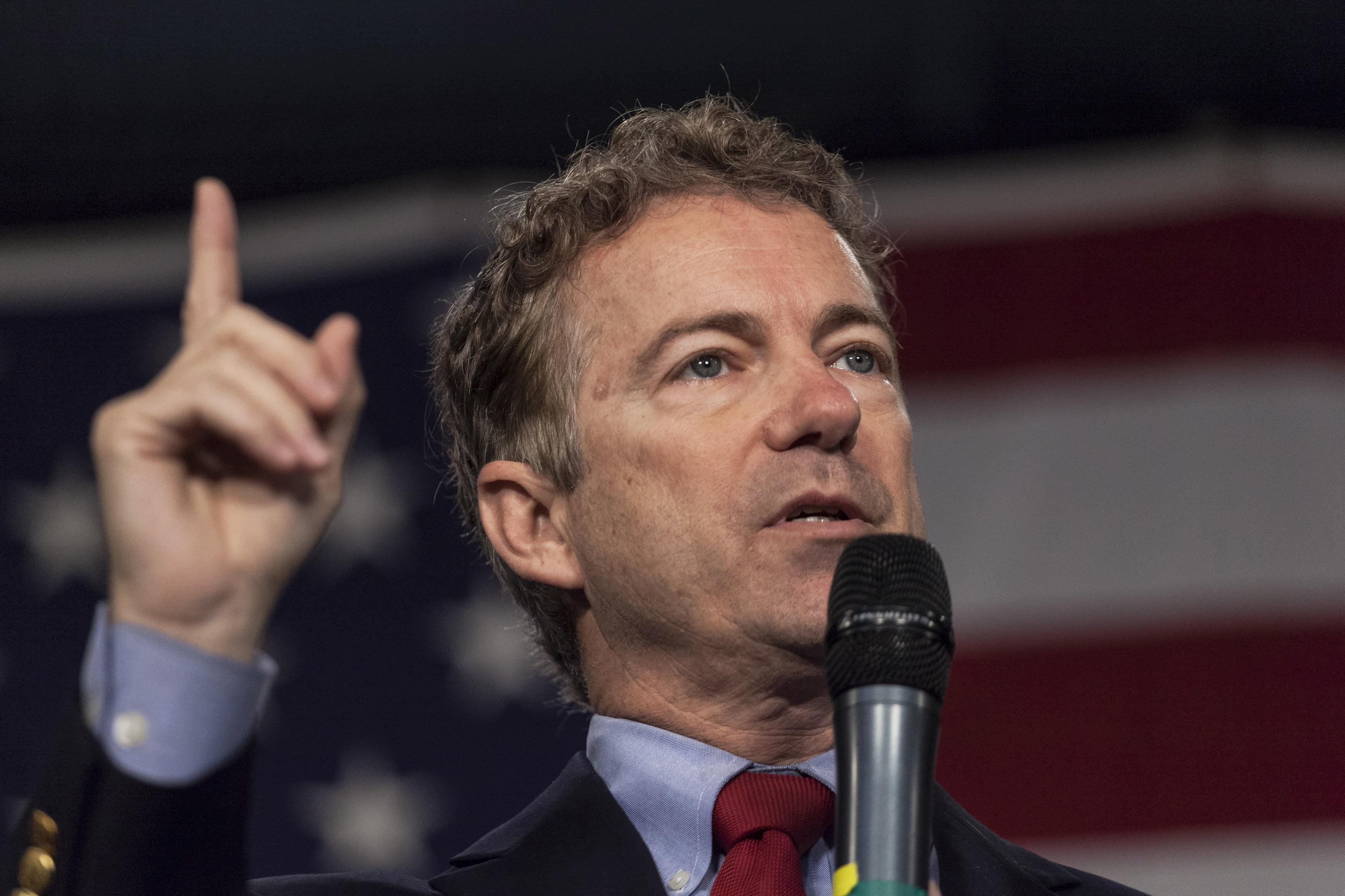 John Roberts Blocks Rand Paul's Question About Alleged Whistleblower