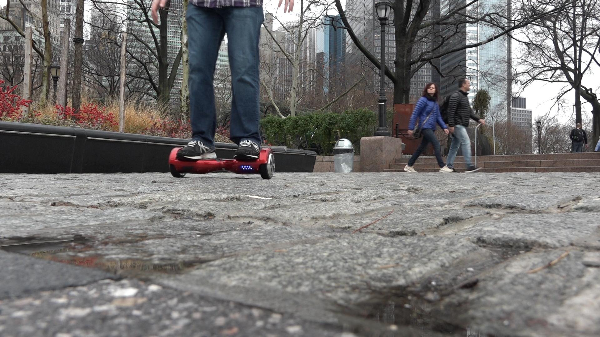 Swagway Hoverboard Battery Park