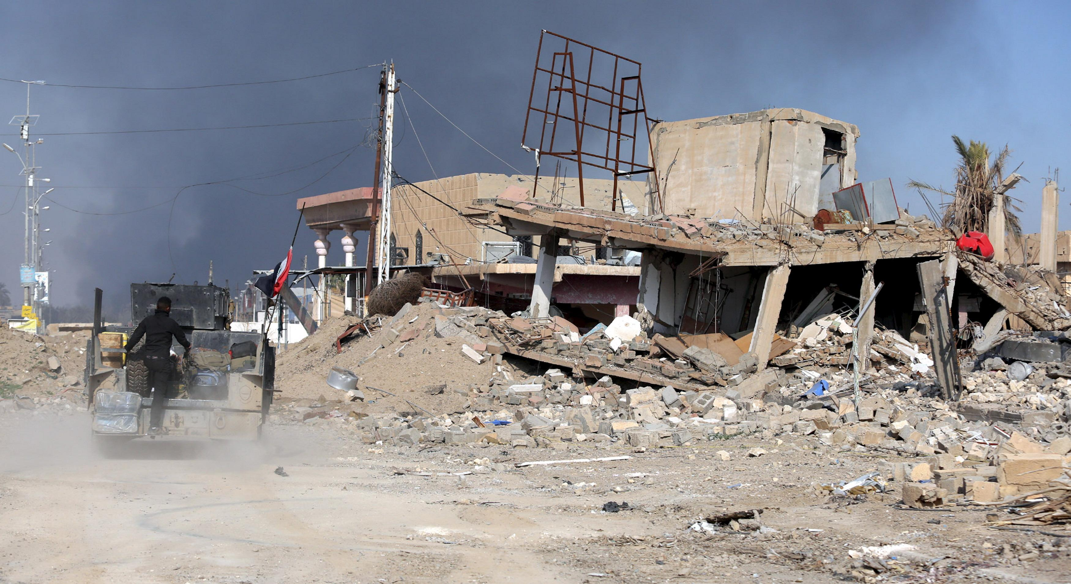 Ramadi destruction