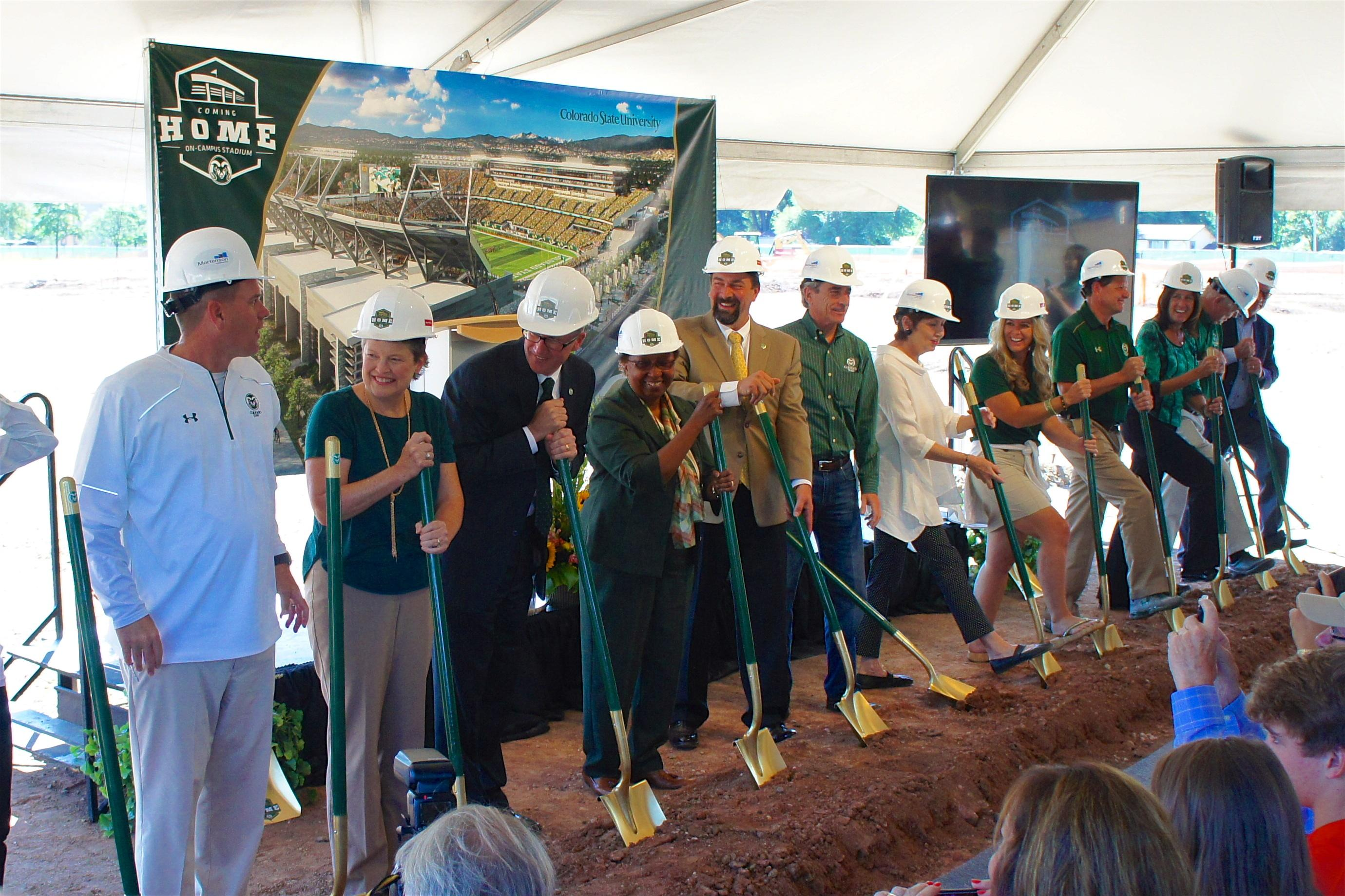 Colorado State University groundbreaking