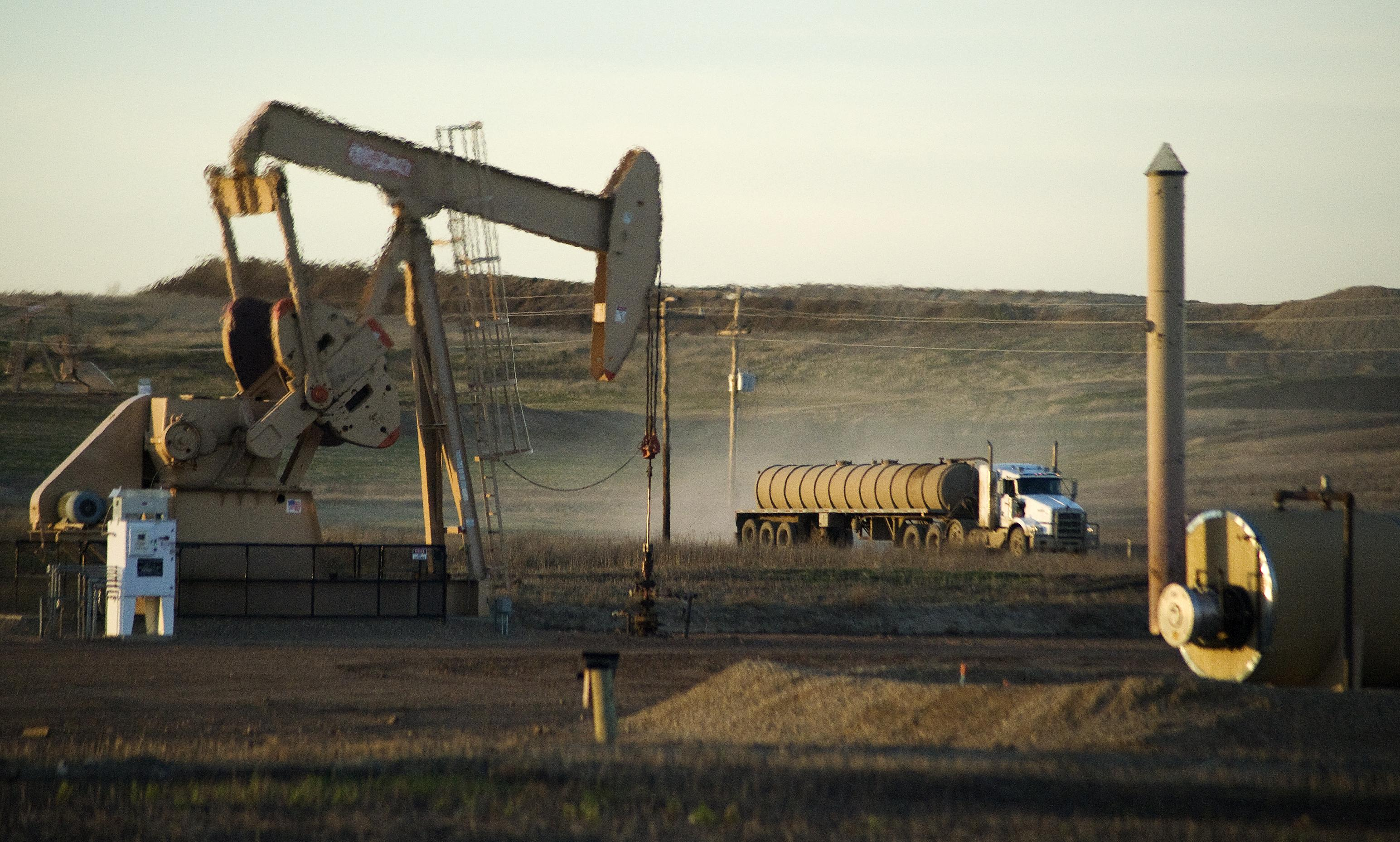 ND oil well