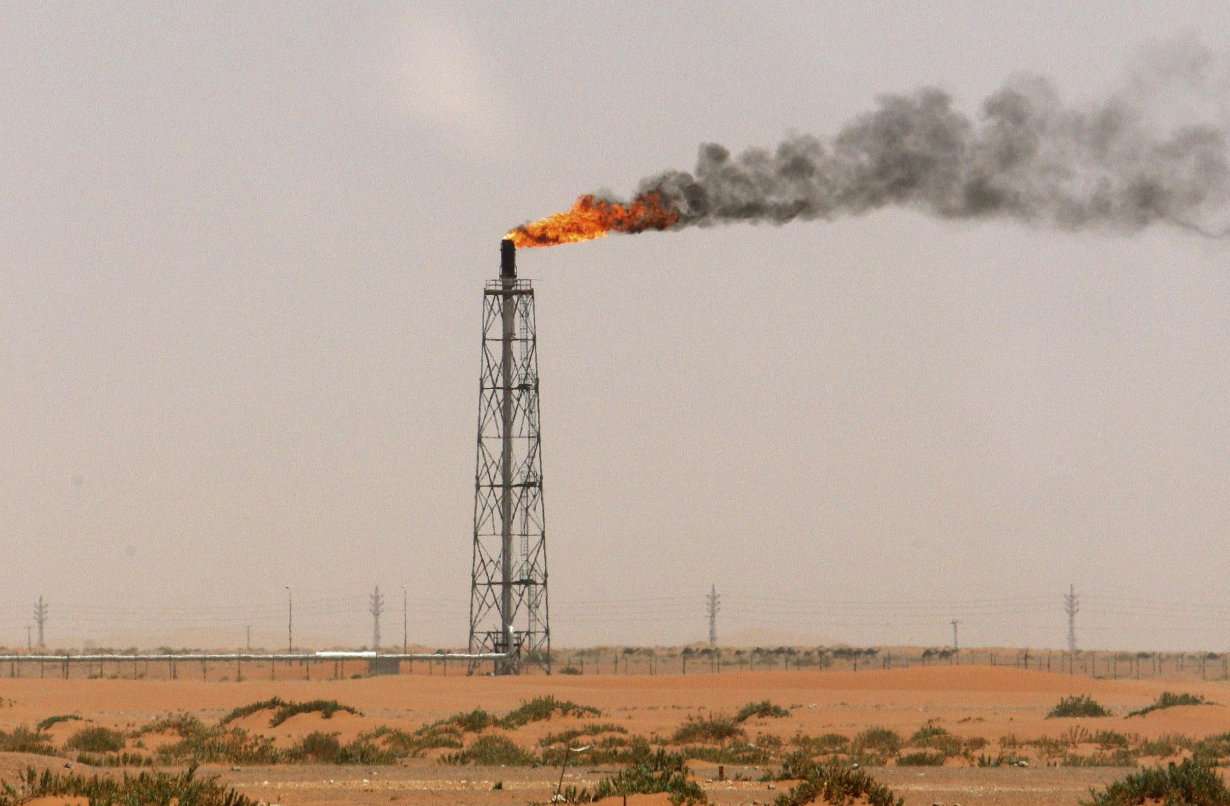 A Saudi Arabian Oilfield