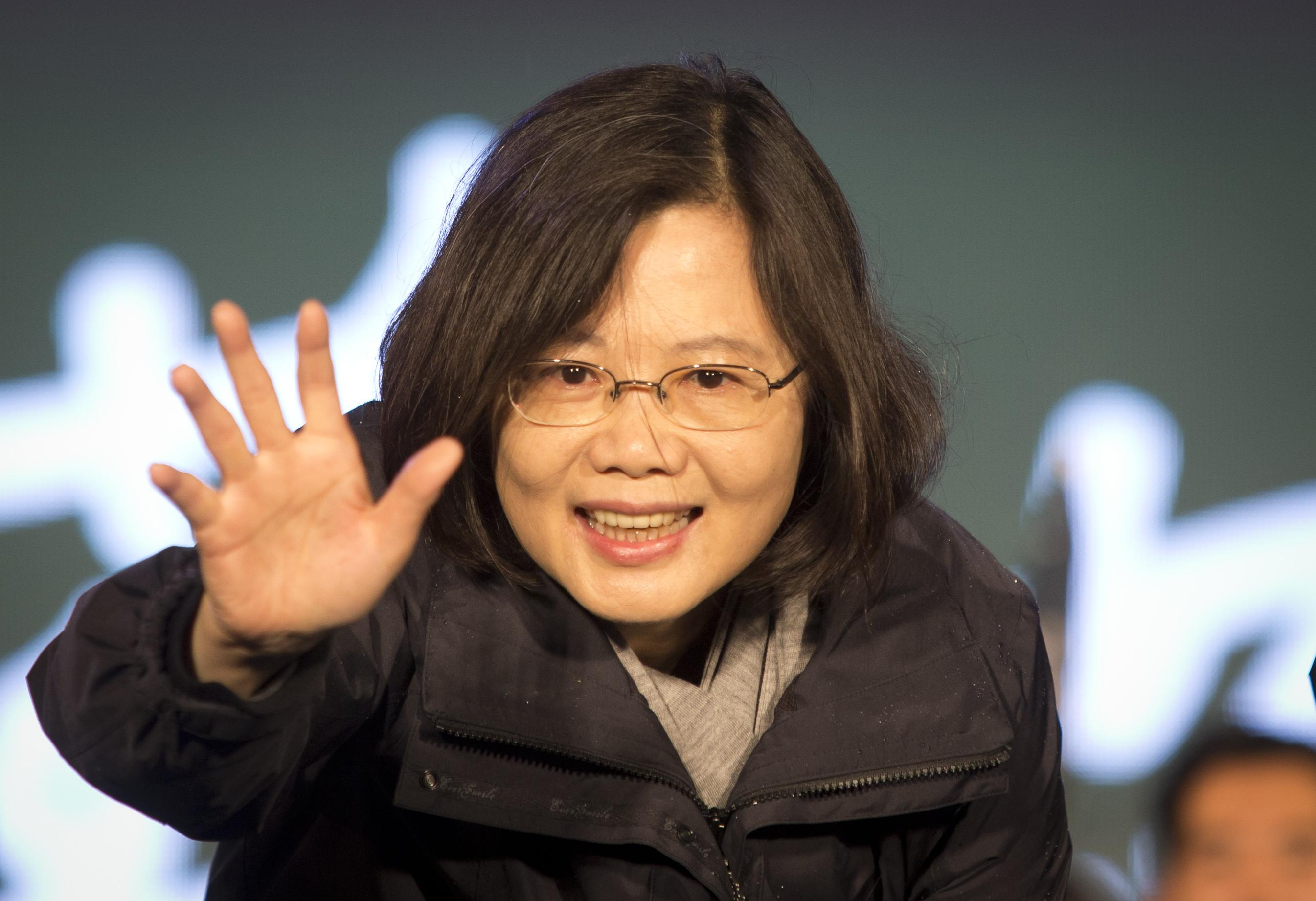Taiwan Presidential Election B, Jan. 15, 2016