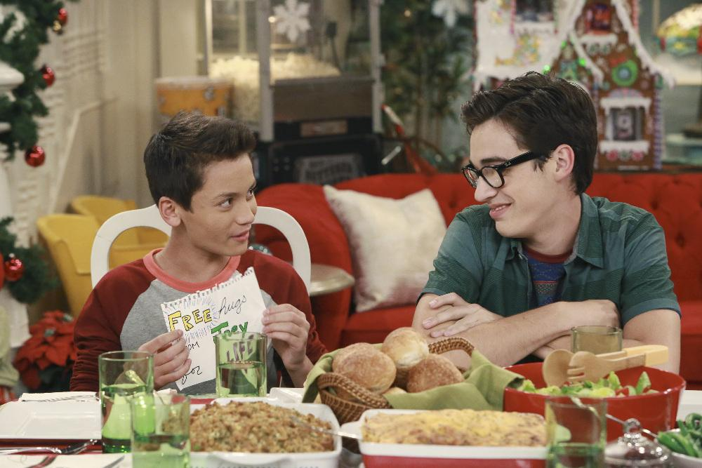 "Parker and Joey on ""Liv and Maddie"