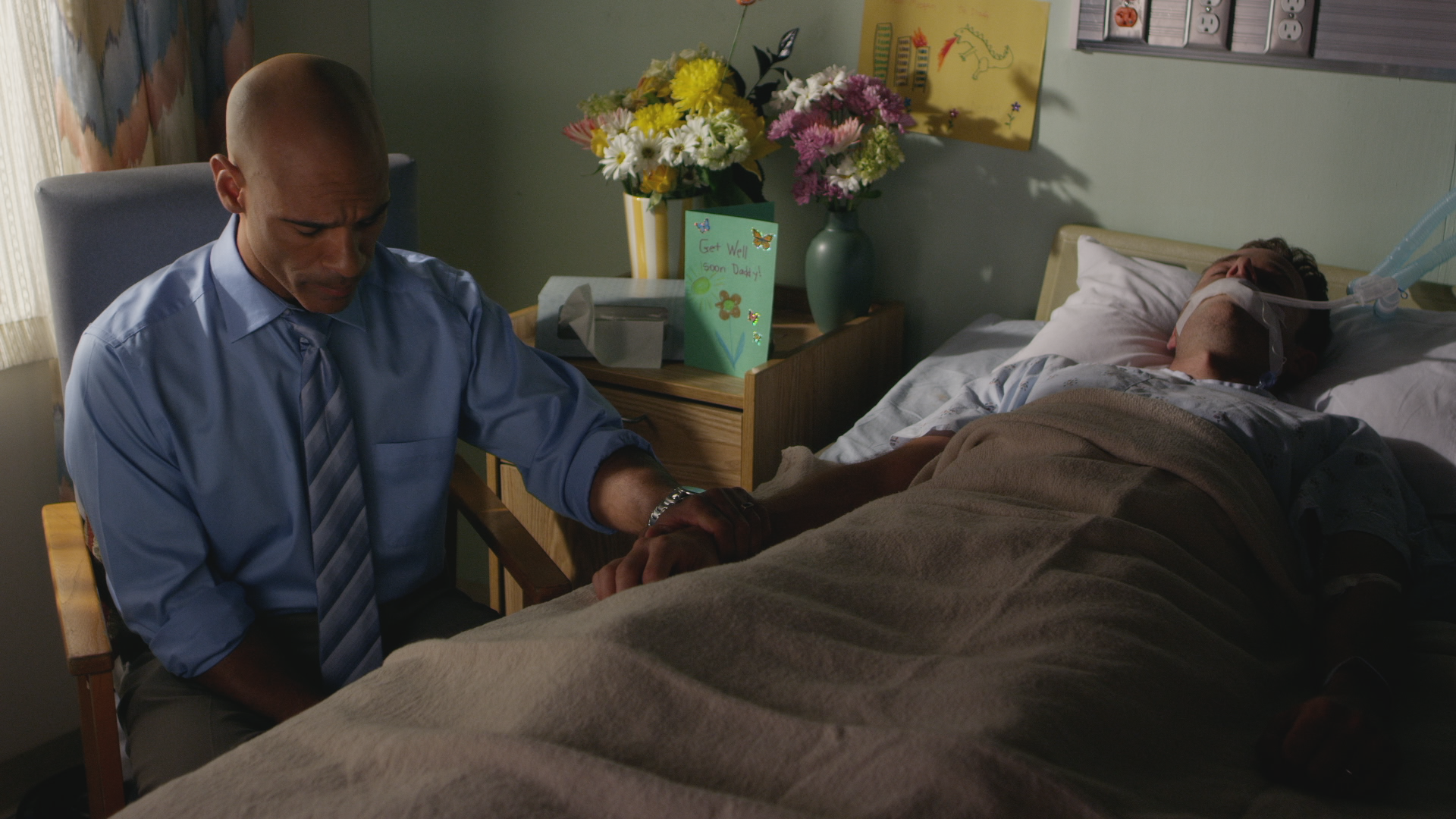 Darren Dupree Washington, Bradley Snedeker Hospital Scene Eternal Salvation