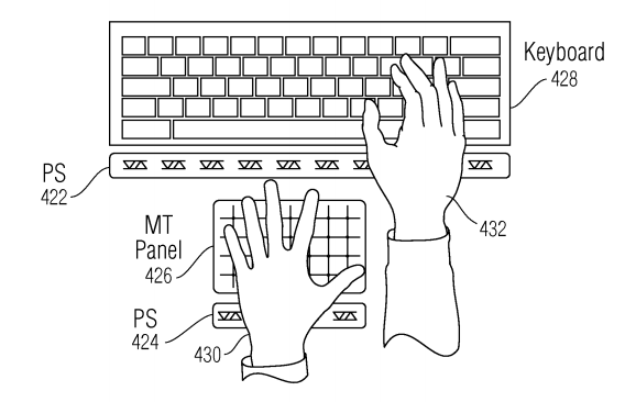 Apple hover gesture keyboard