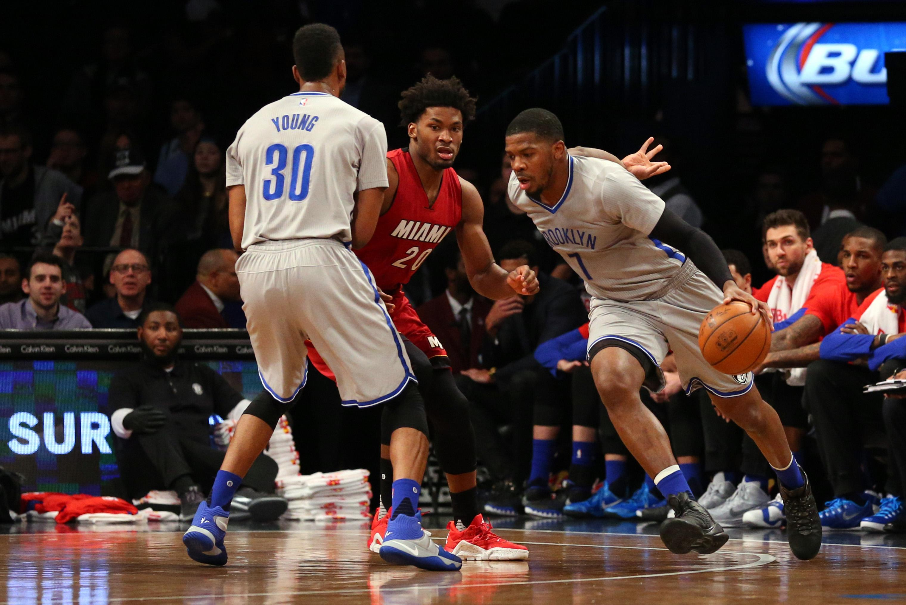 Joe Johnson working out for several top contenders