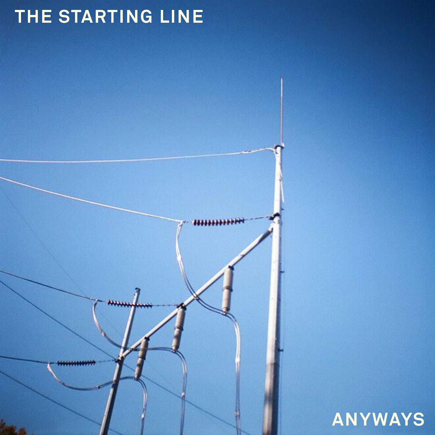 The Starting Line Anyways Cover